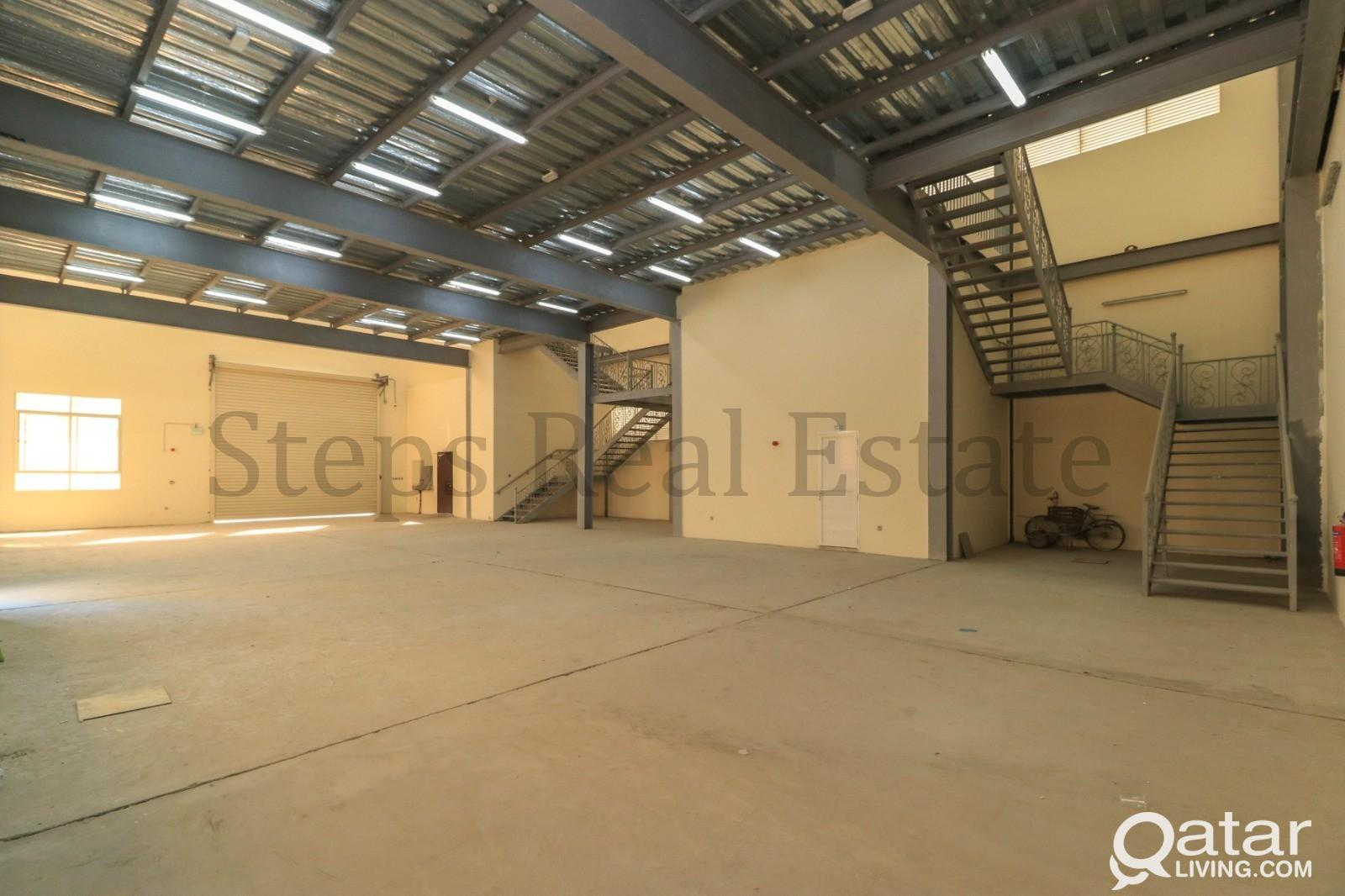 Brand New 850Sqm Garage At Industrial Area