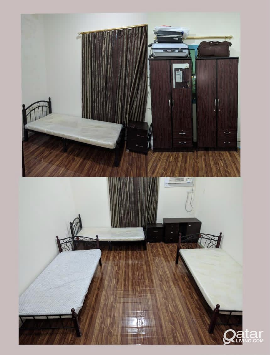 FURNISHED ROOM / BED SPACE FOR EXE. BACHELORS IN N