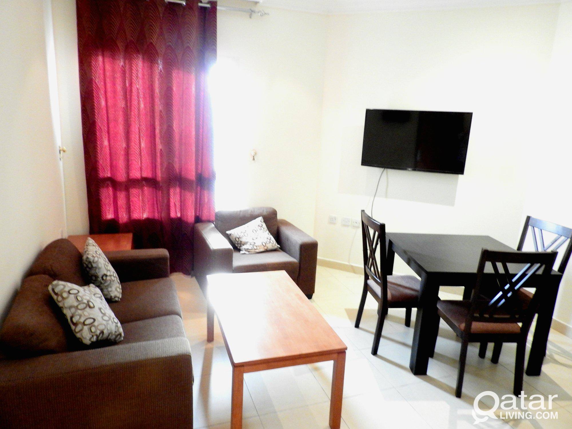 Spacious Fully Furnished 1 BHK Available in Umm Gh