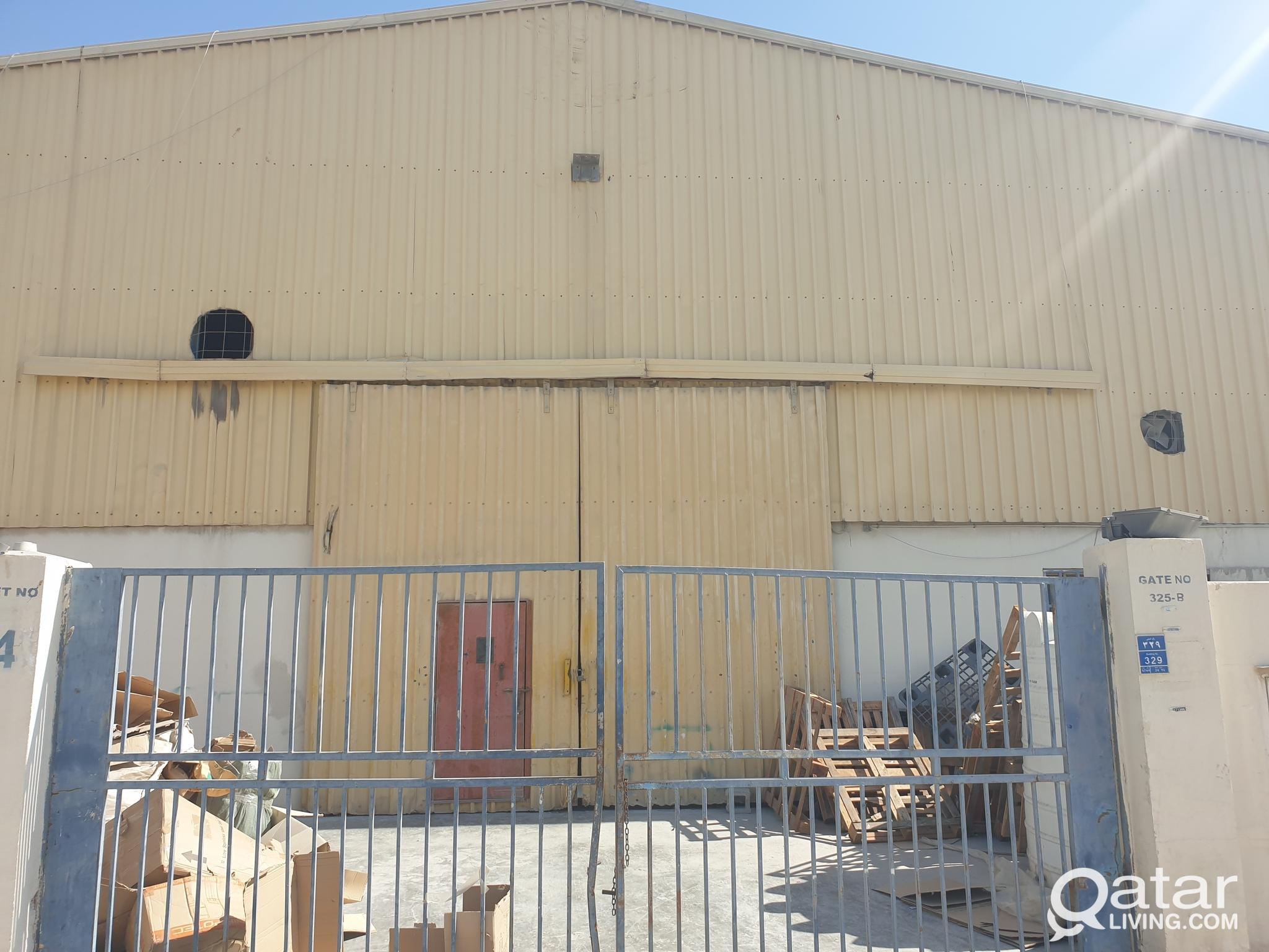Steel &aluminium workshop 800 sq.m .industrial are