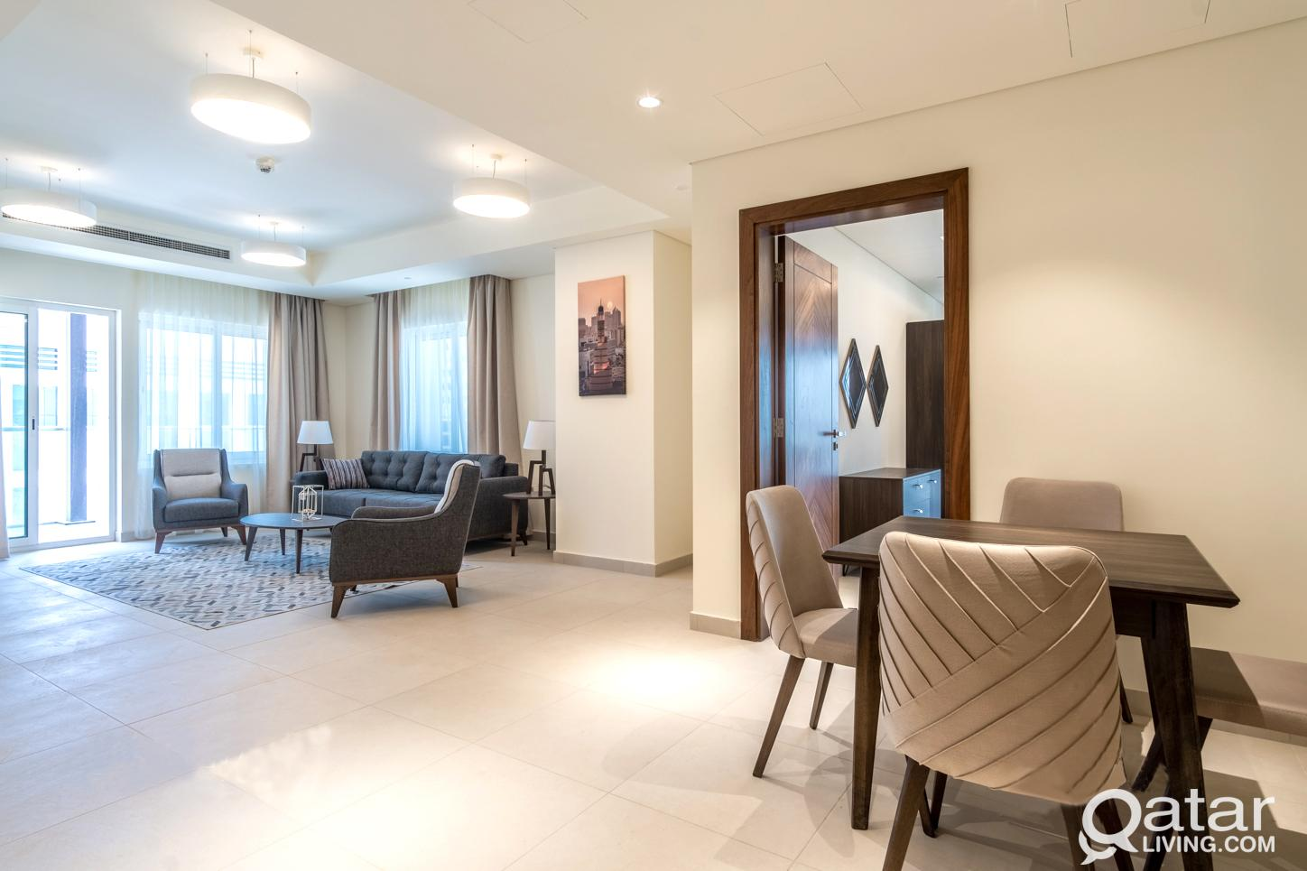 No Commission|2months Free|FF 1bhk+Bills|Lusail