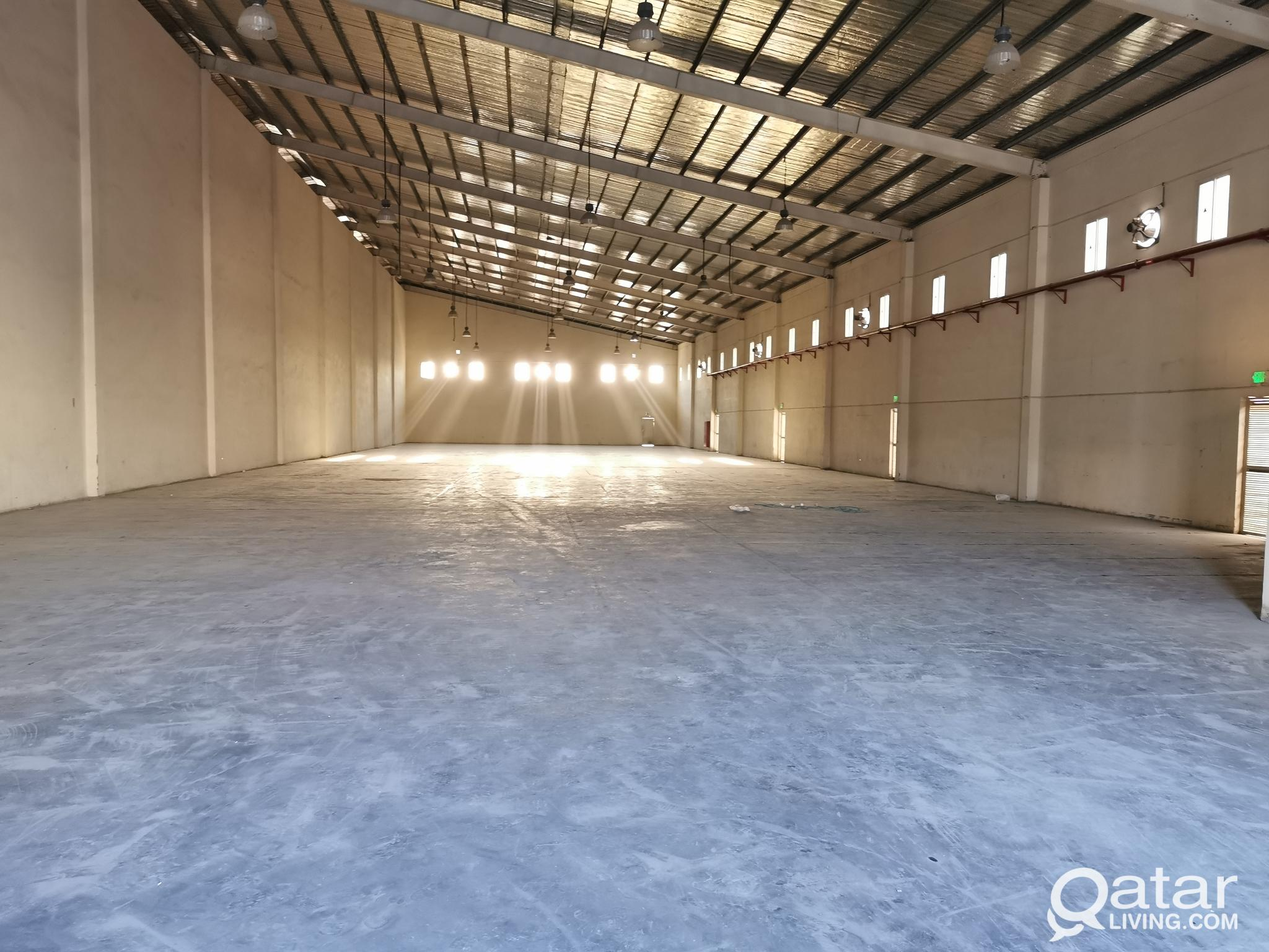 1500.SQM  TYRE / GENERAL STORE FOR RENT