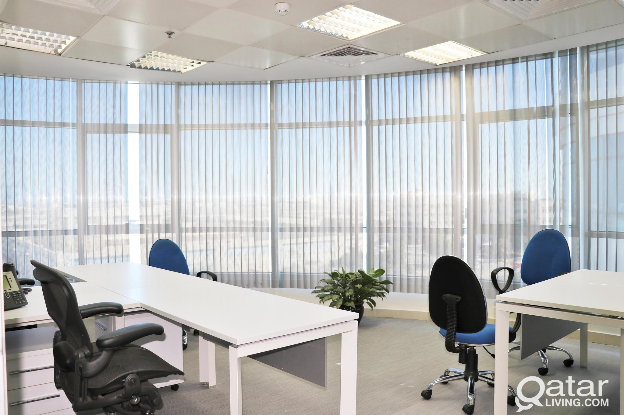 All Bills included : Private   office with commerc