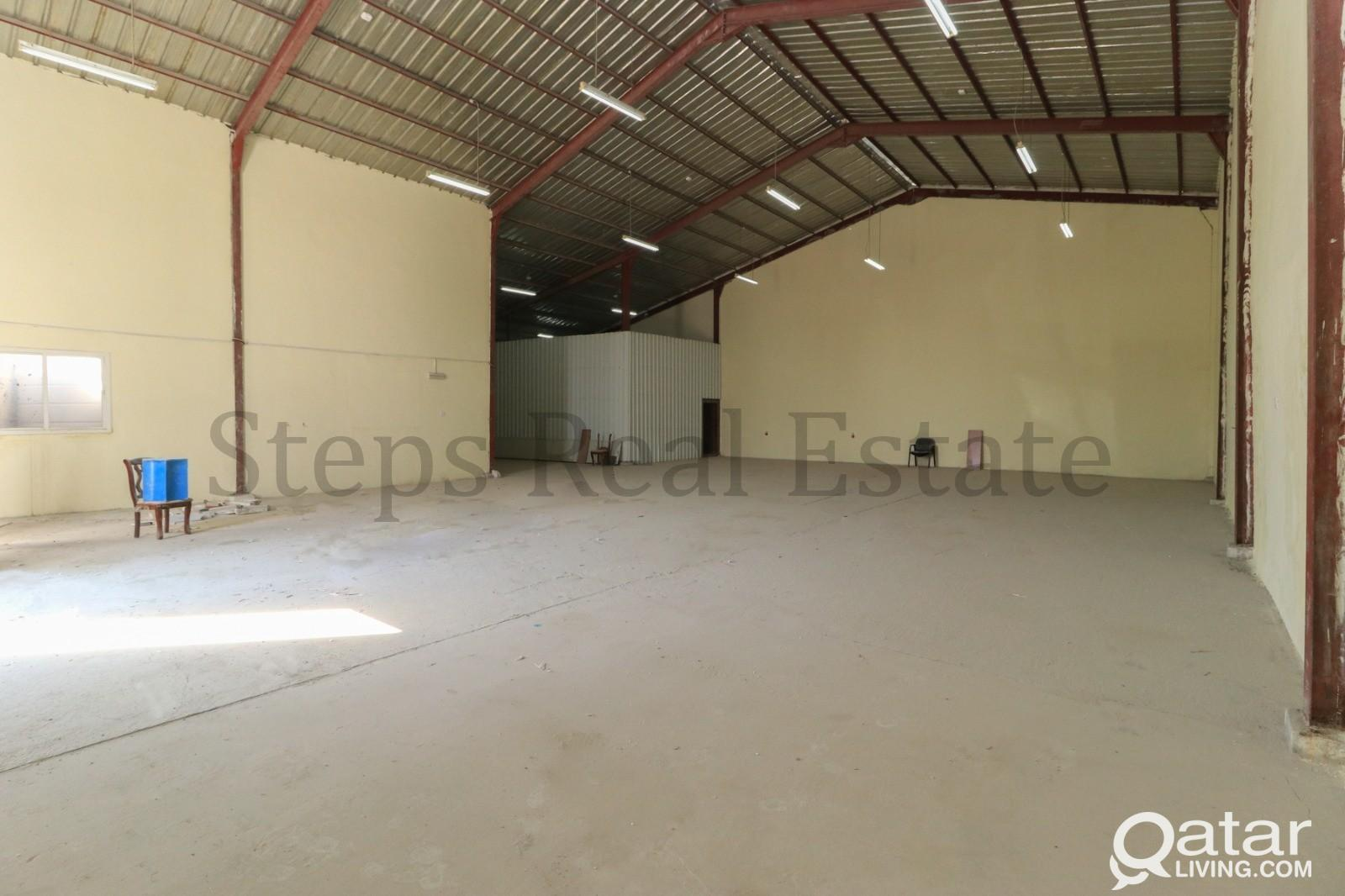 A Very Well maintained 550 SQM warehouse