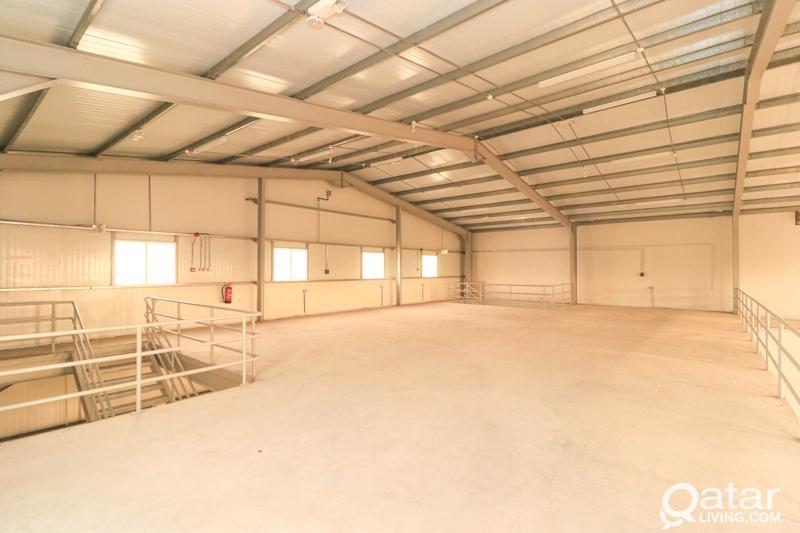 700Sqm New Storage & Rooms Barakath Al Awmar