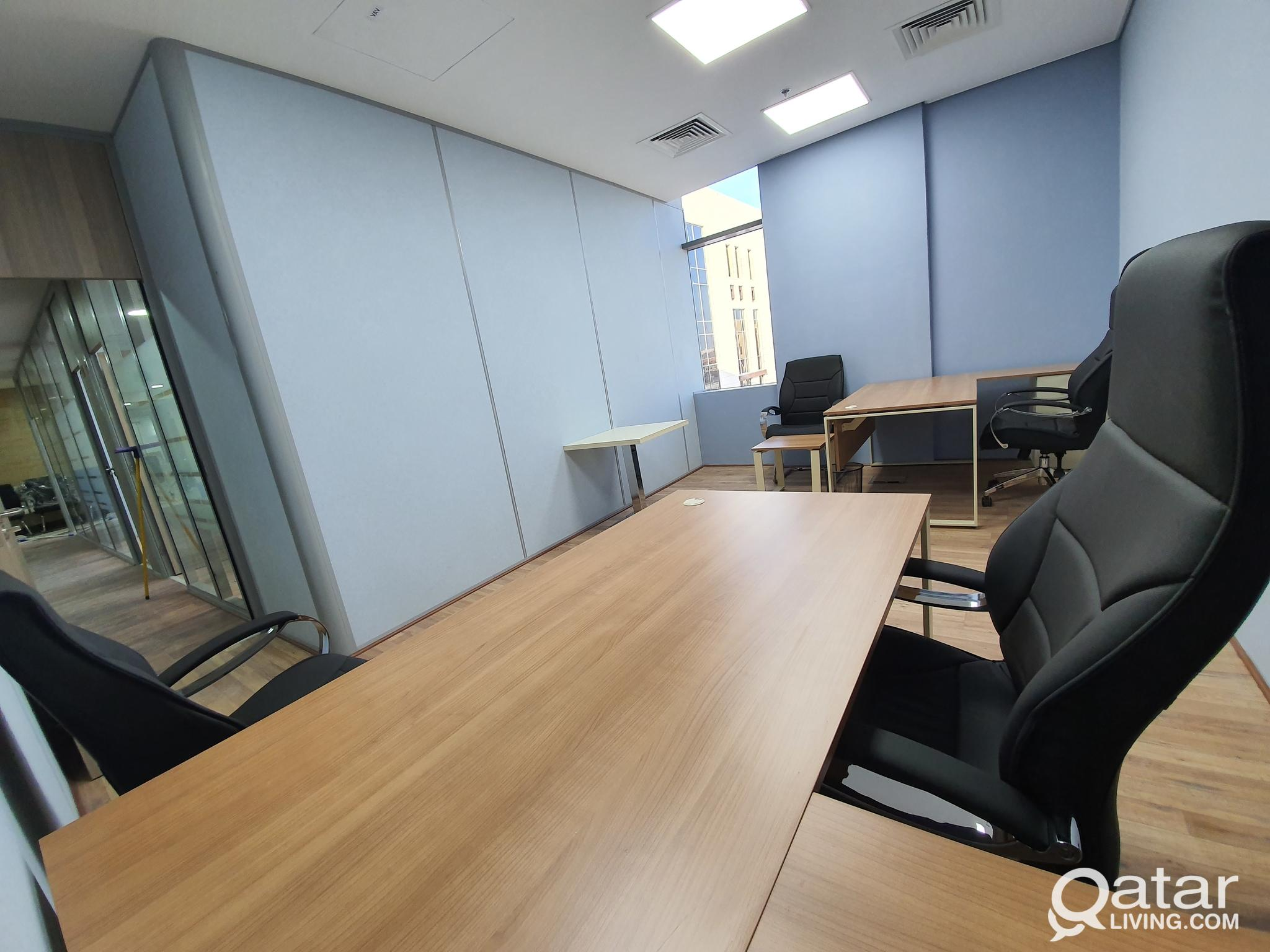 Serviced Office in Lusail - Business center