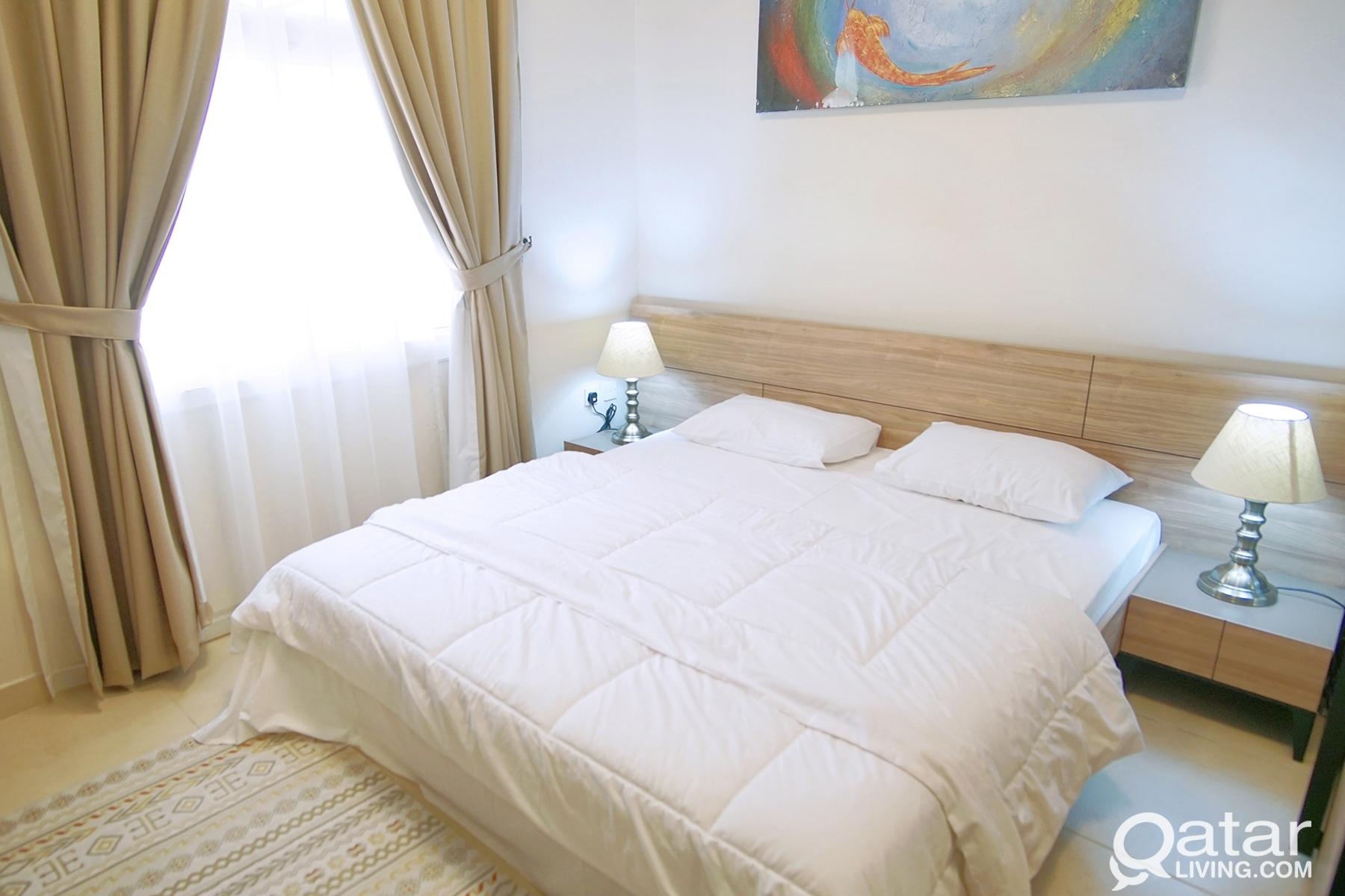 LUXRIOUS 1 BED FURNISHED APART NEAR METRO 1 Month