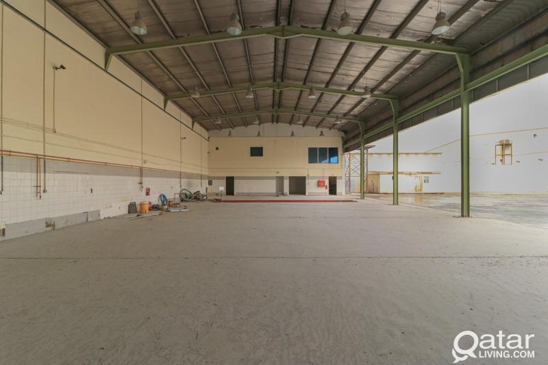 3000sqm Garage & Land including labor camp