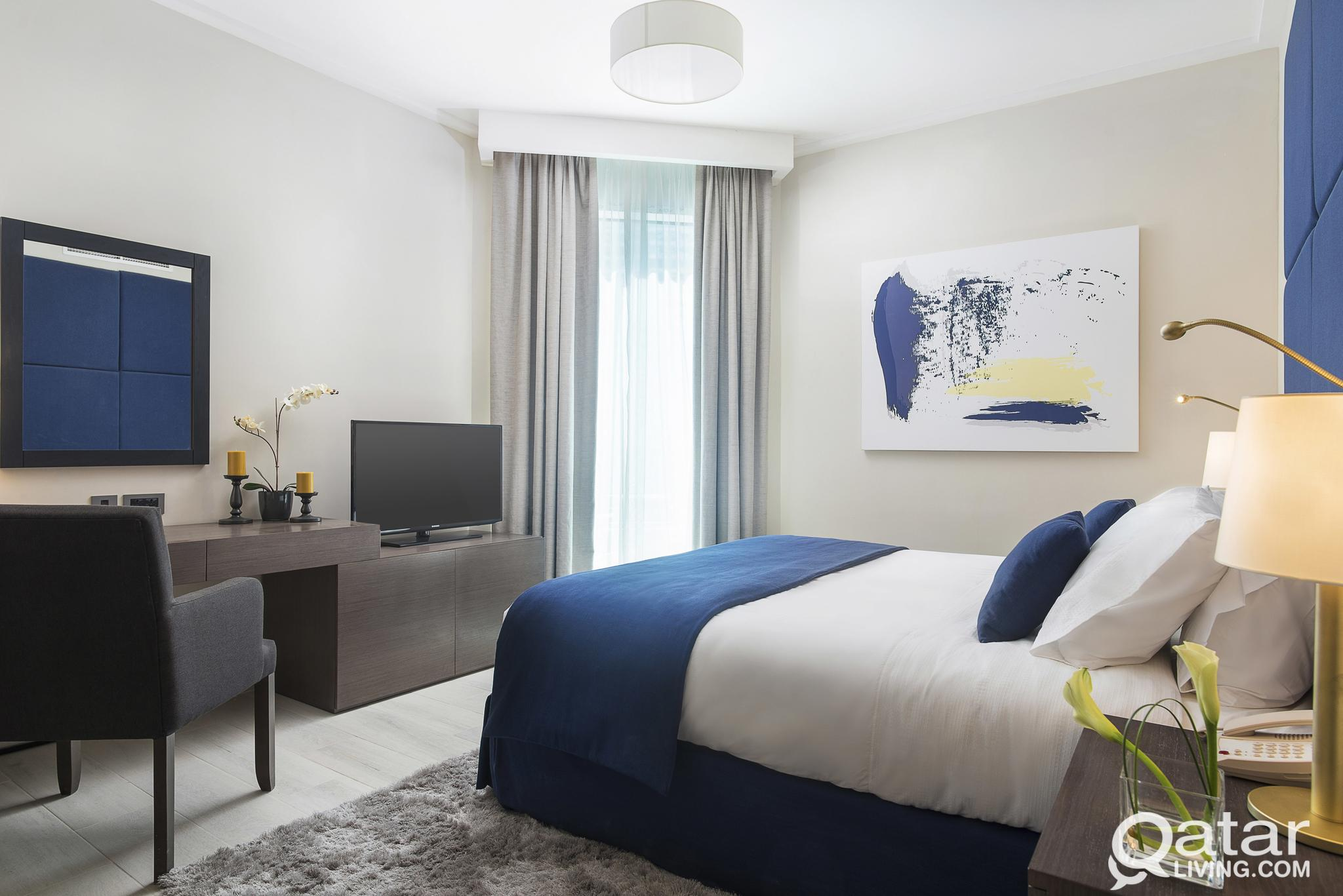 Deluxe Two Bedroom Apartment in West Bay