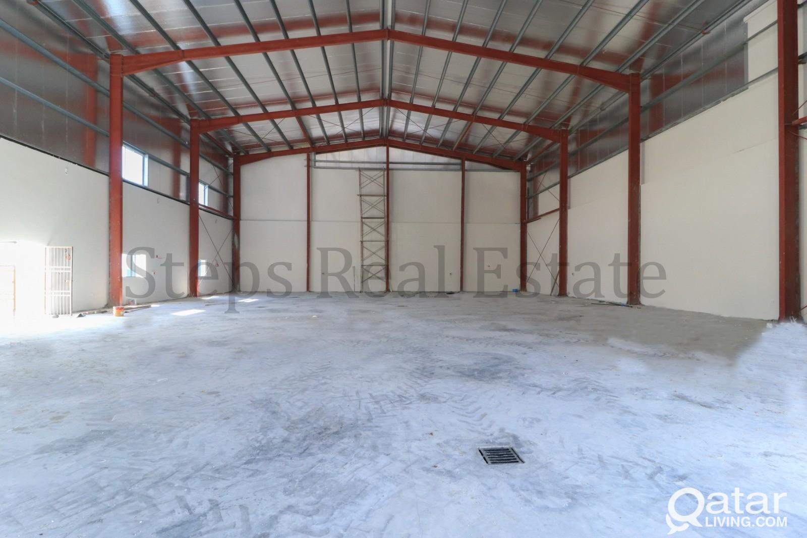 2000 Sqm  Warehouse  for rent in Barkat Al Awmar