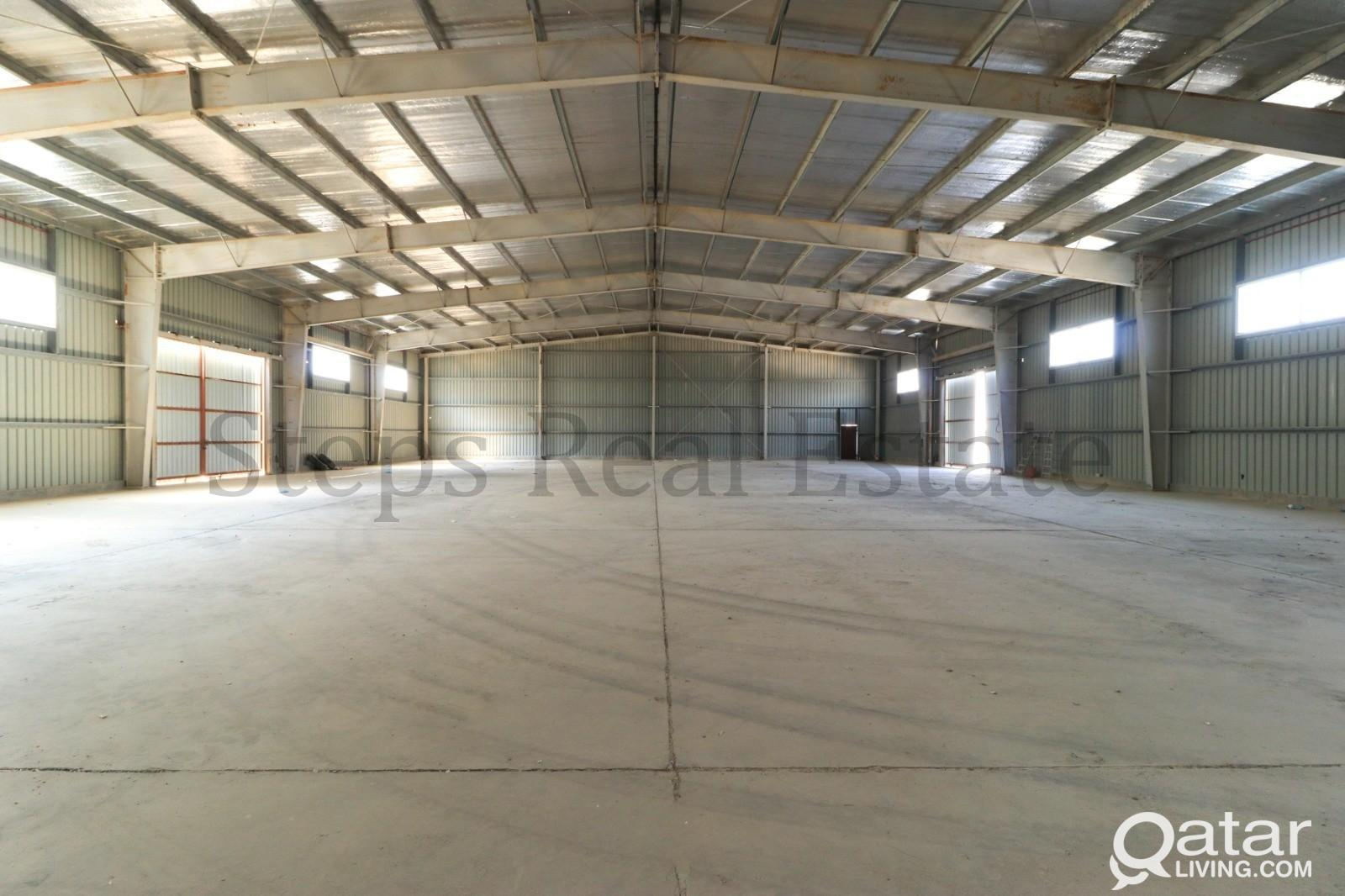 2000 Sqm Land + 1300 Sqm Warehouse for Rent