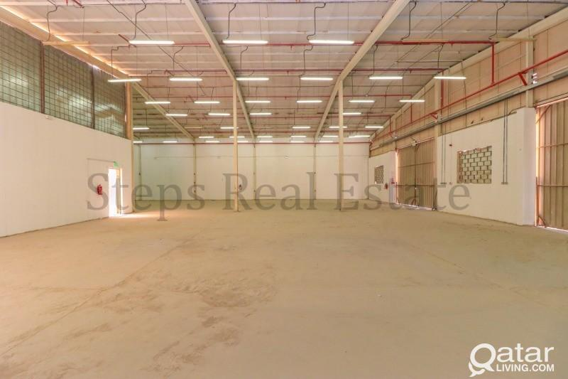 500 Sqm warehouse with 49 rooms For Rent