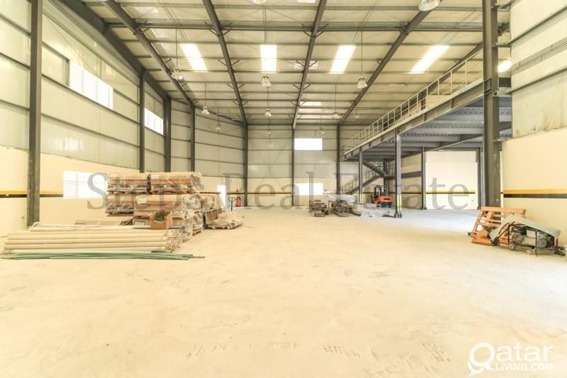 2000 Sqm Warehouse with 09 rooms