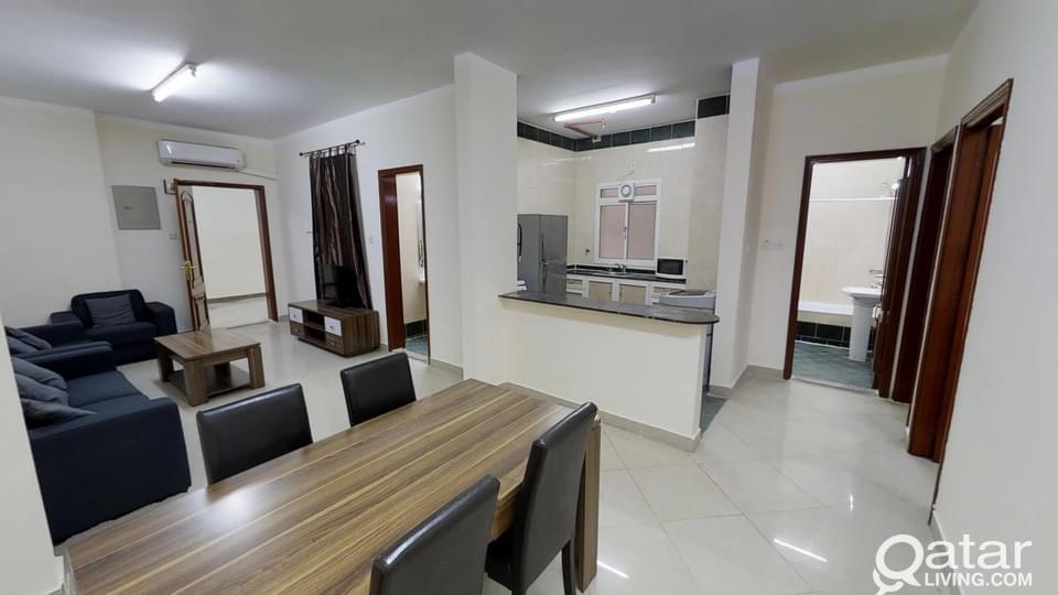Spacious Furnished 2 BHK Apartment in Musherib ( O