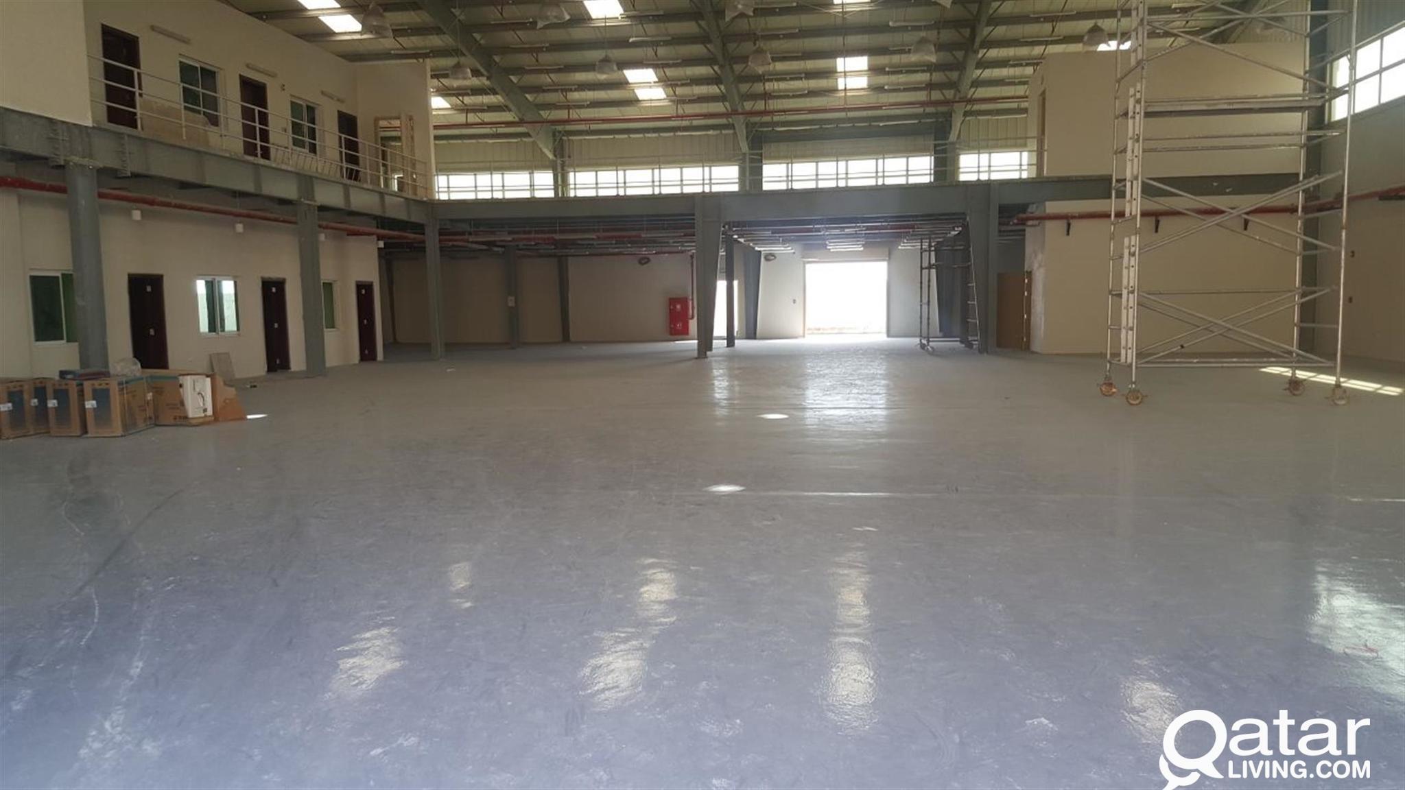 new warehouses  2400 sq.m /3600  sq.m/4800  sq.m
