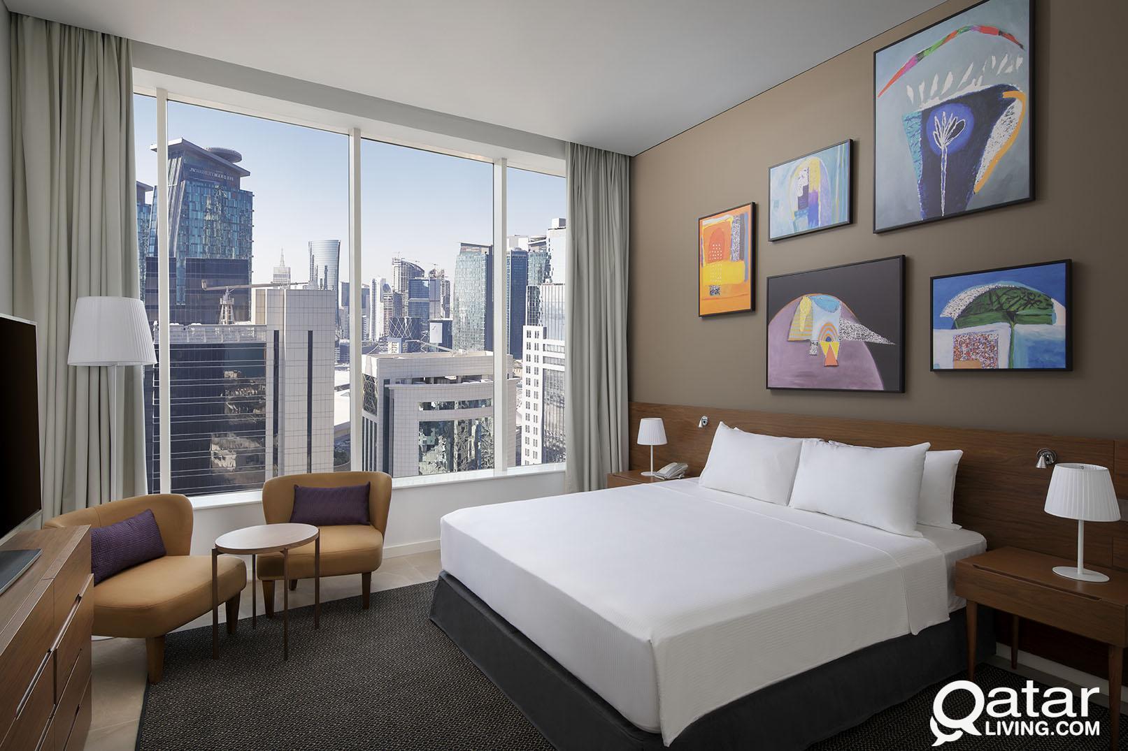 Aleph Doha Residences, Curio Collection by Hilton
