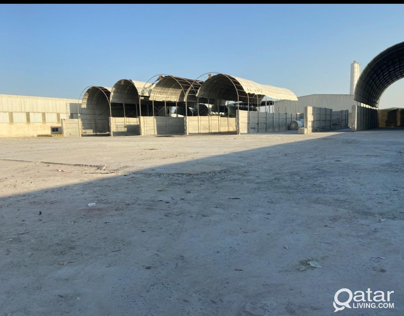 open yard .Land for rent 5000  sq.m & 10000 sq.m i