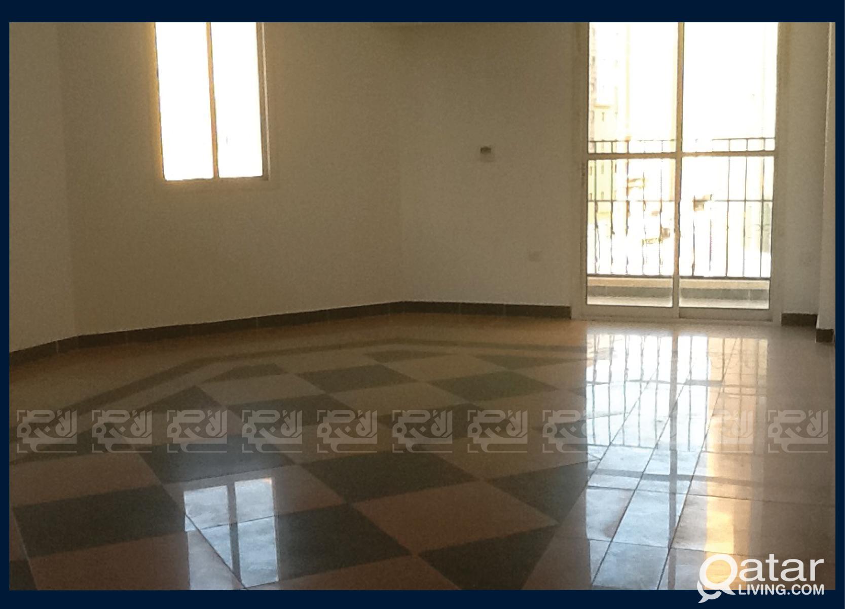 Unfurnished 3-Bedroom Apt in Musheireb