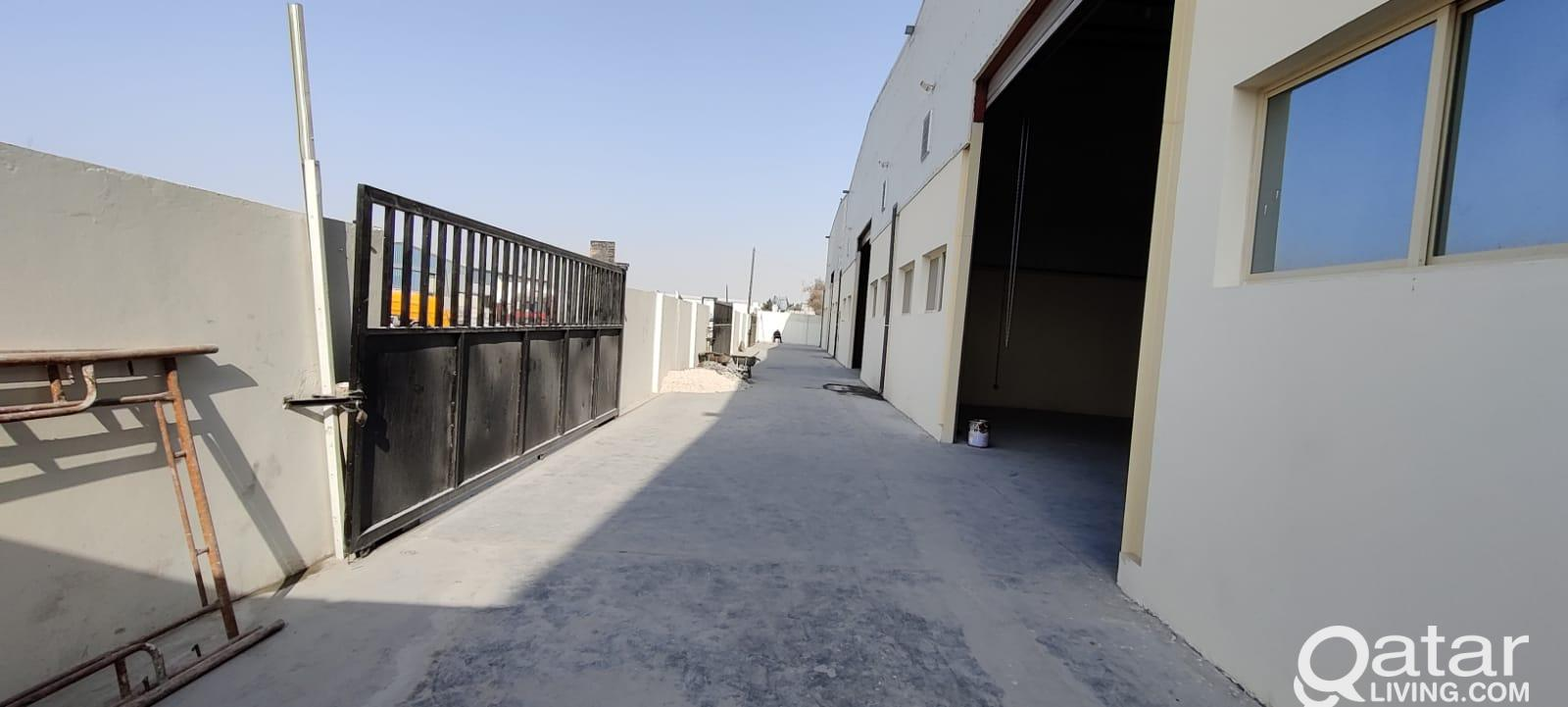 Brand new warehouses For Rent - Close to Salwa Roa
