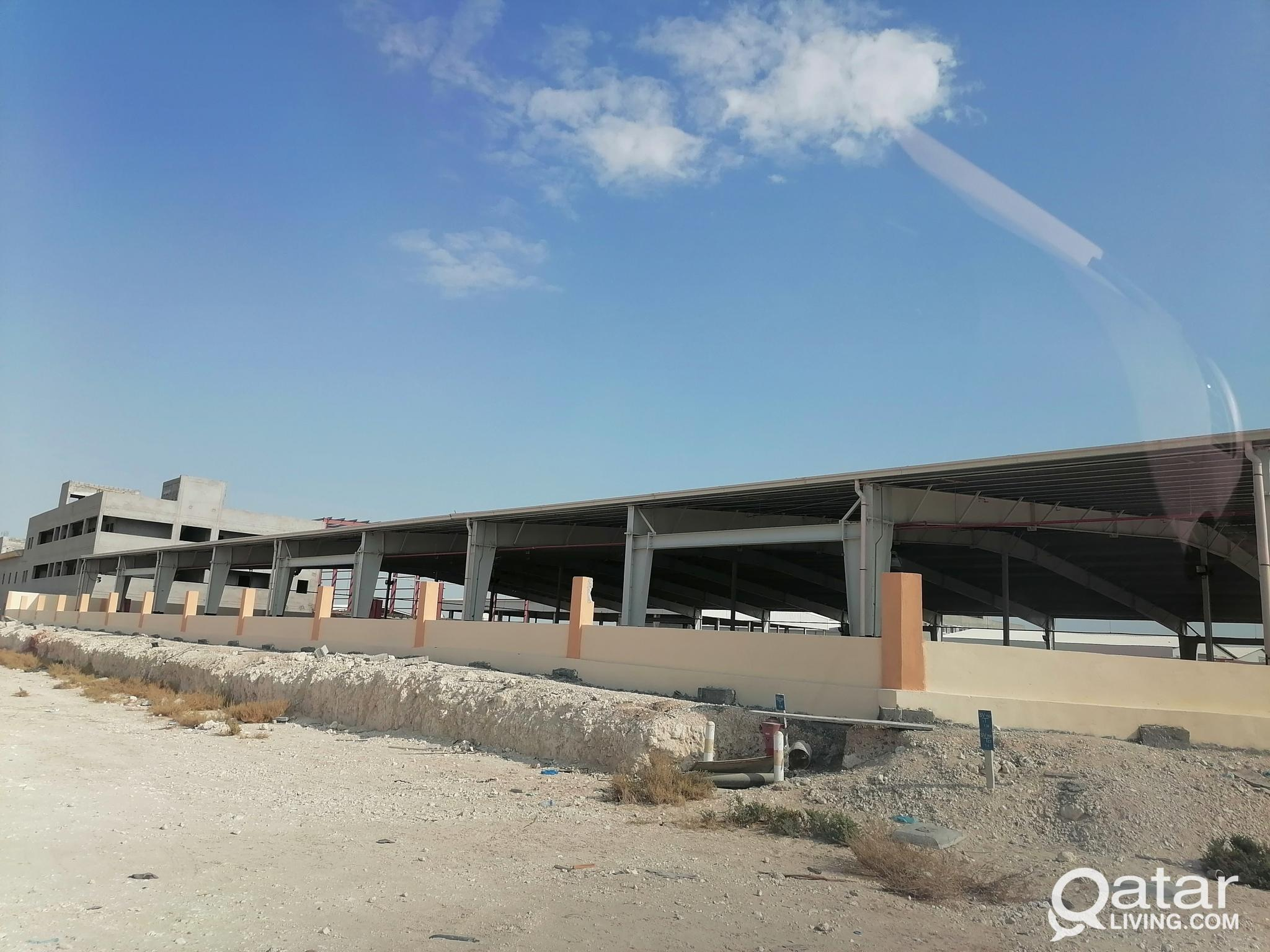 FOR RENT -  LAND / SHADED YARD - 10,000 Sqm