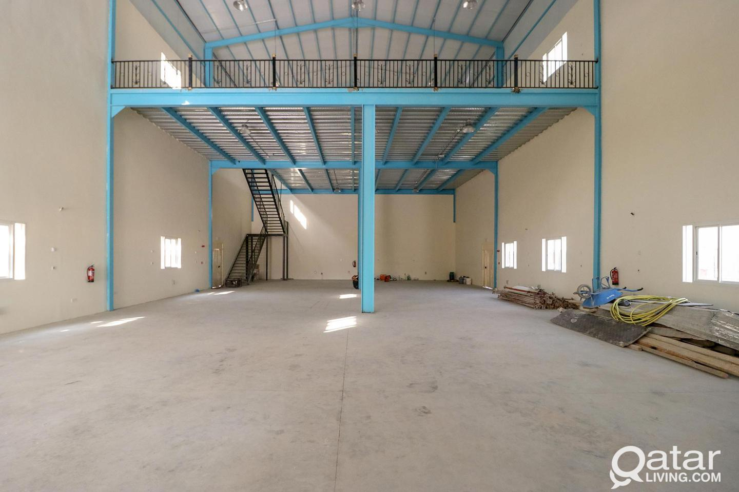 Brand new warehouse suitable for any license