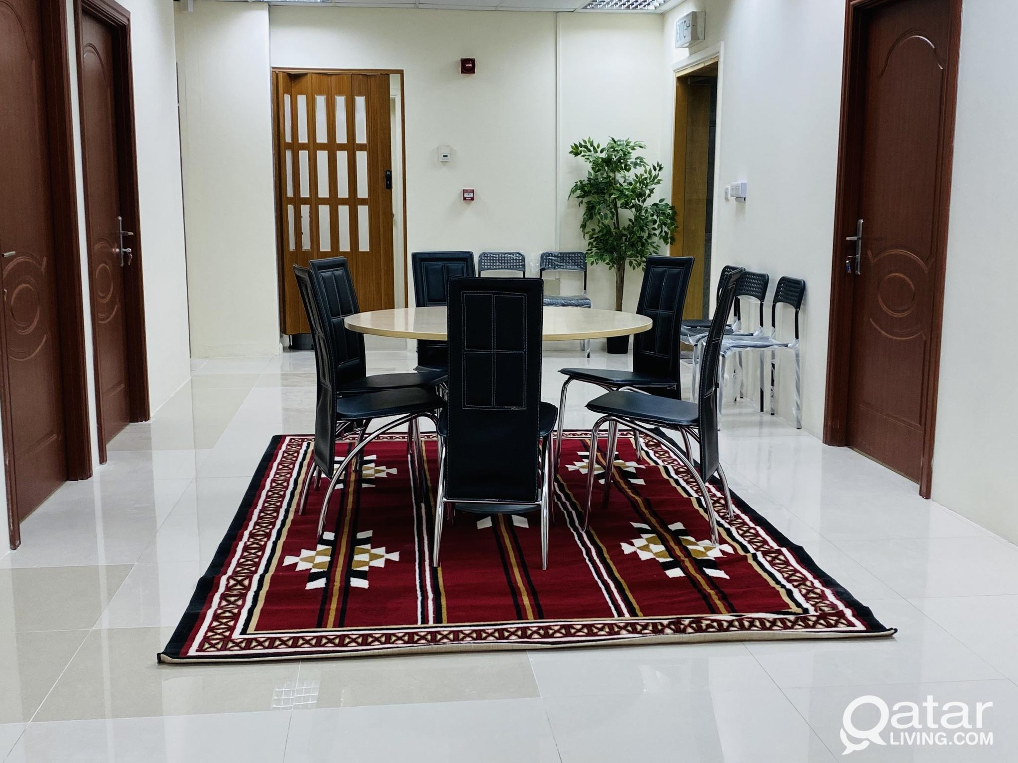 OFFICE WITH SPONSOR  AND   TRADING LICENCE APPROVA