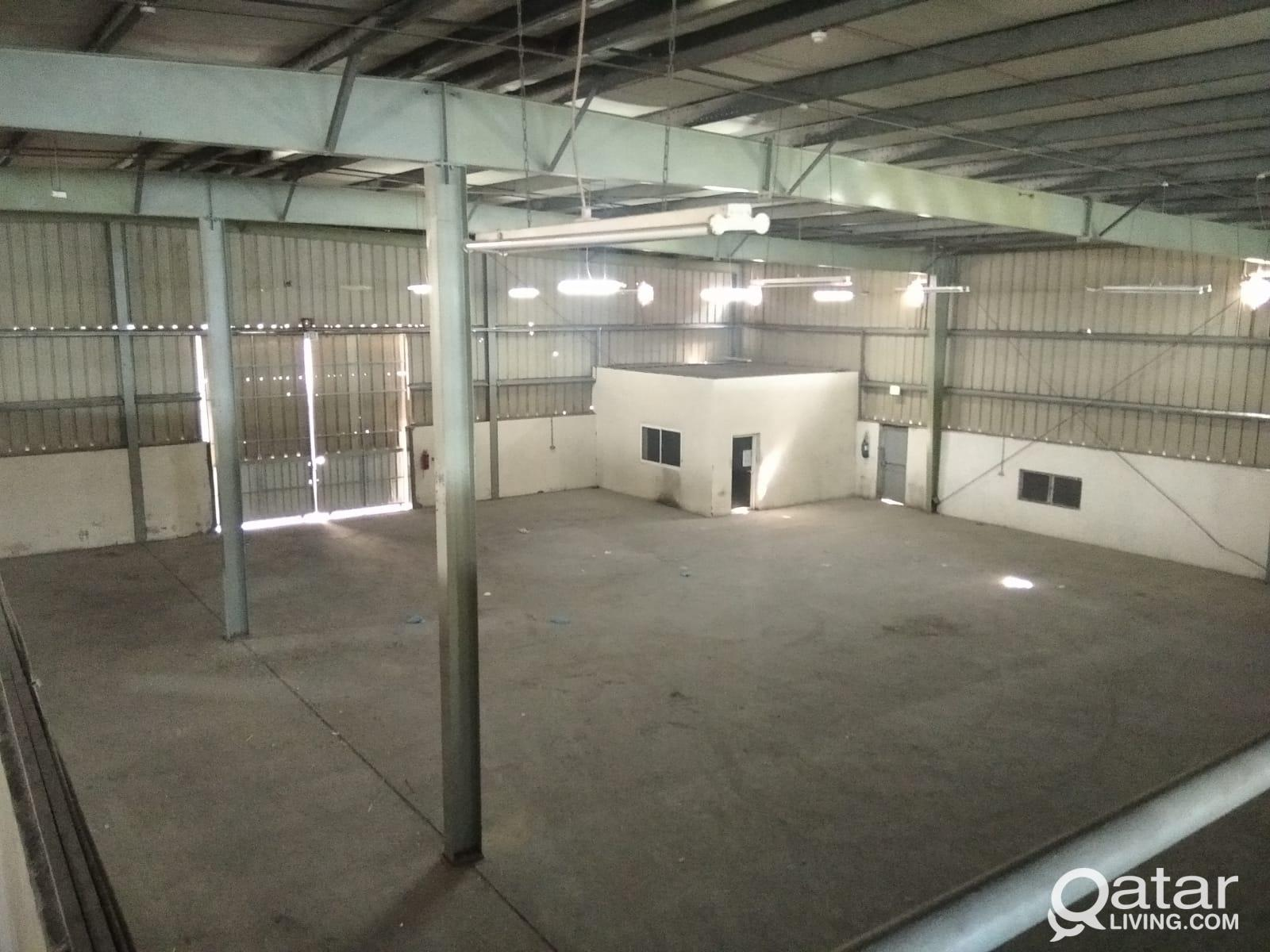 3000 SQM Showrooms plus Stores for Rent in Industr