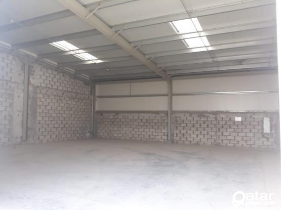 140 Sqm Carpentry or Aluminium or Signage Workshop