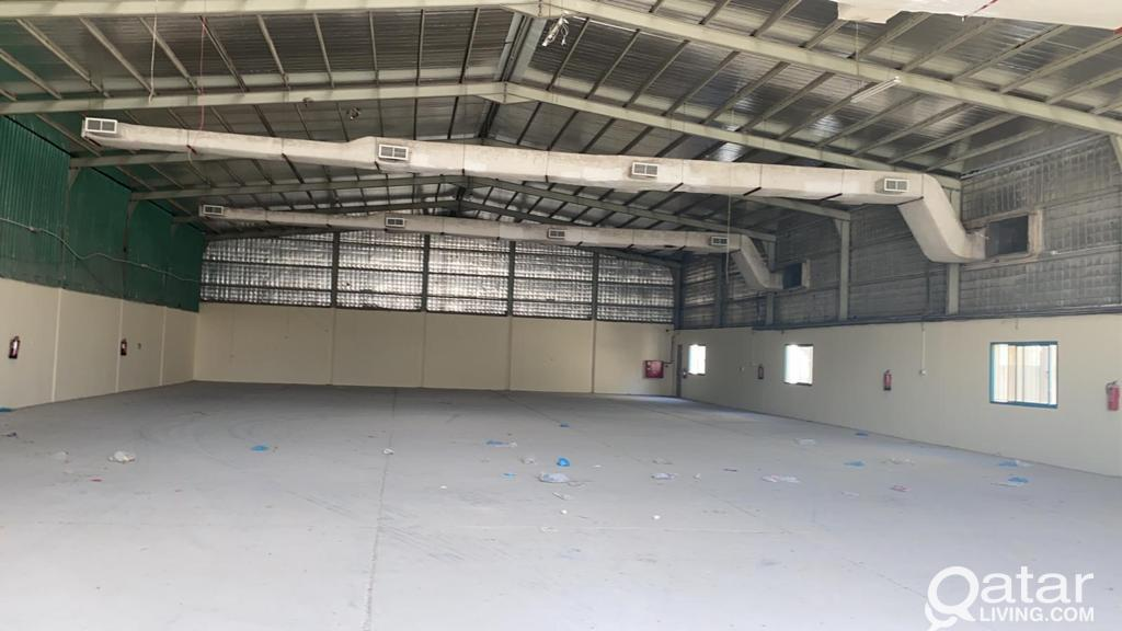 850 SQM FOOD STORE FOR RENT  IN INDUSTRIAL AREA