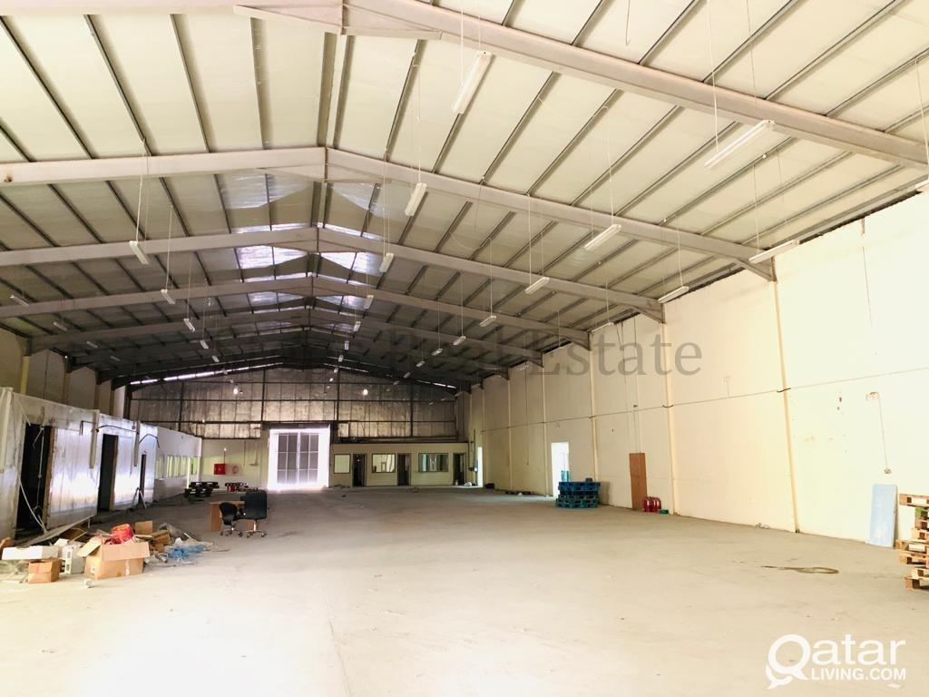 2400SQM Store & 54 Rooms industrial Area