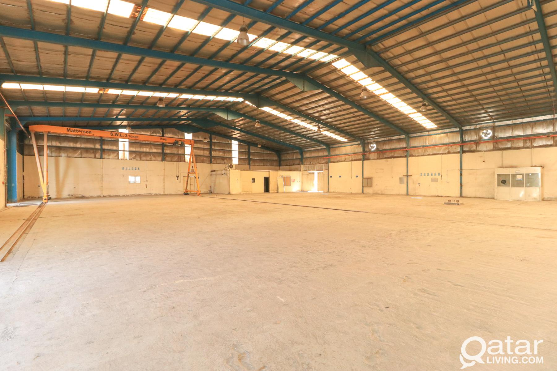 4425 SQM Warehouse For Rent In Industrial Area