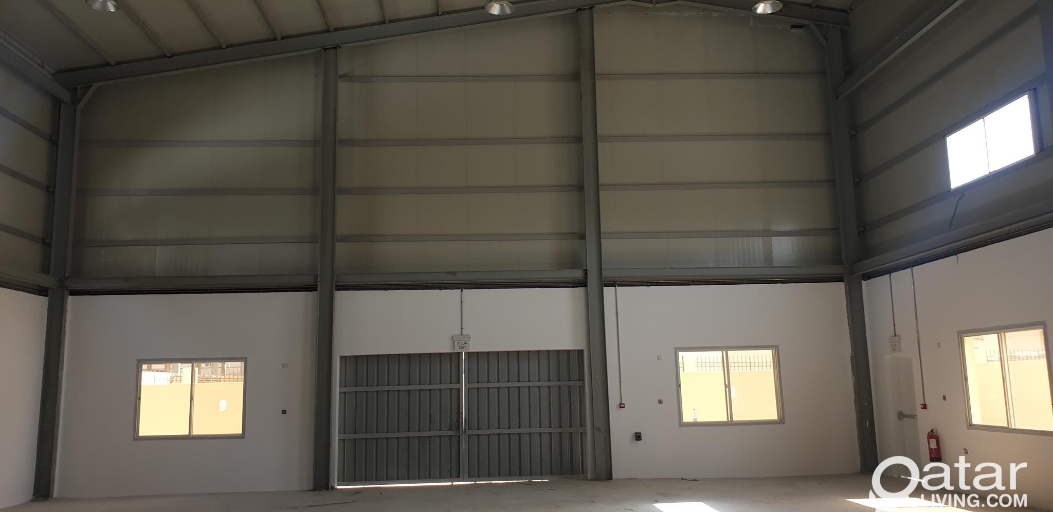 Brandnew warehouse 1200 sq.m berkat alawameer