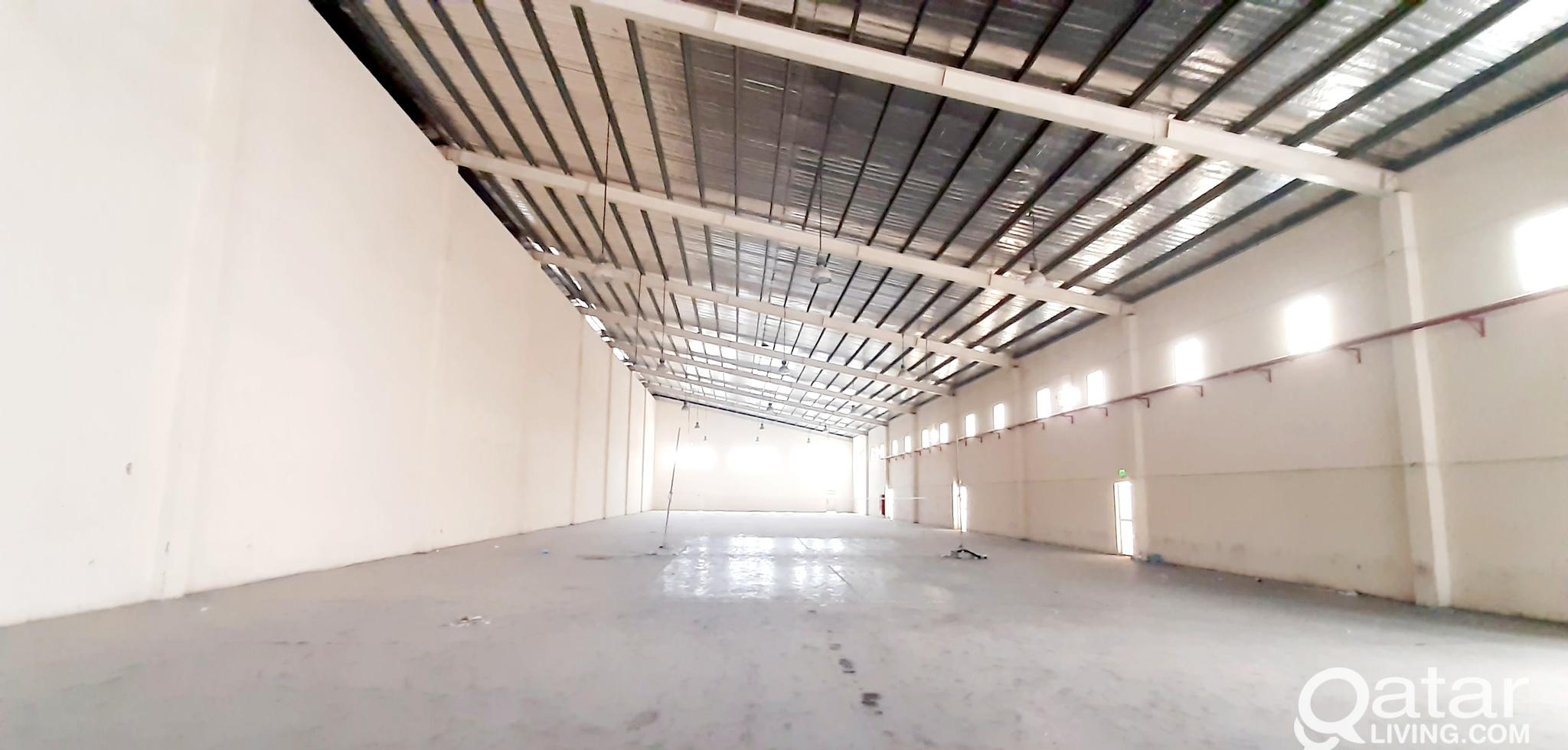 3100 SQM STORE FOR RENT IN INDUSTRIAL AREA