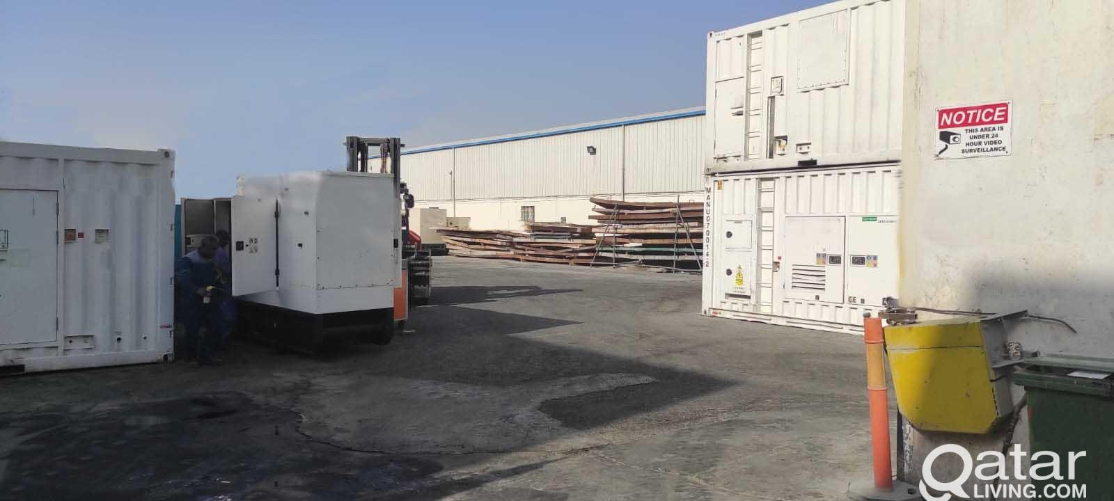 3800 SQM WORKSHOP FOR RENT IN INDUSTRIAL AREA