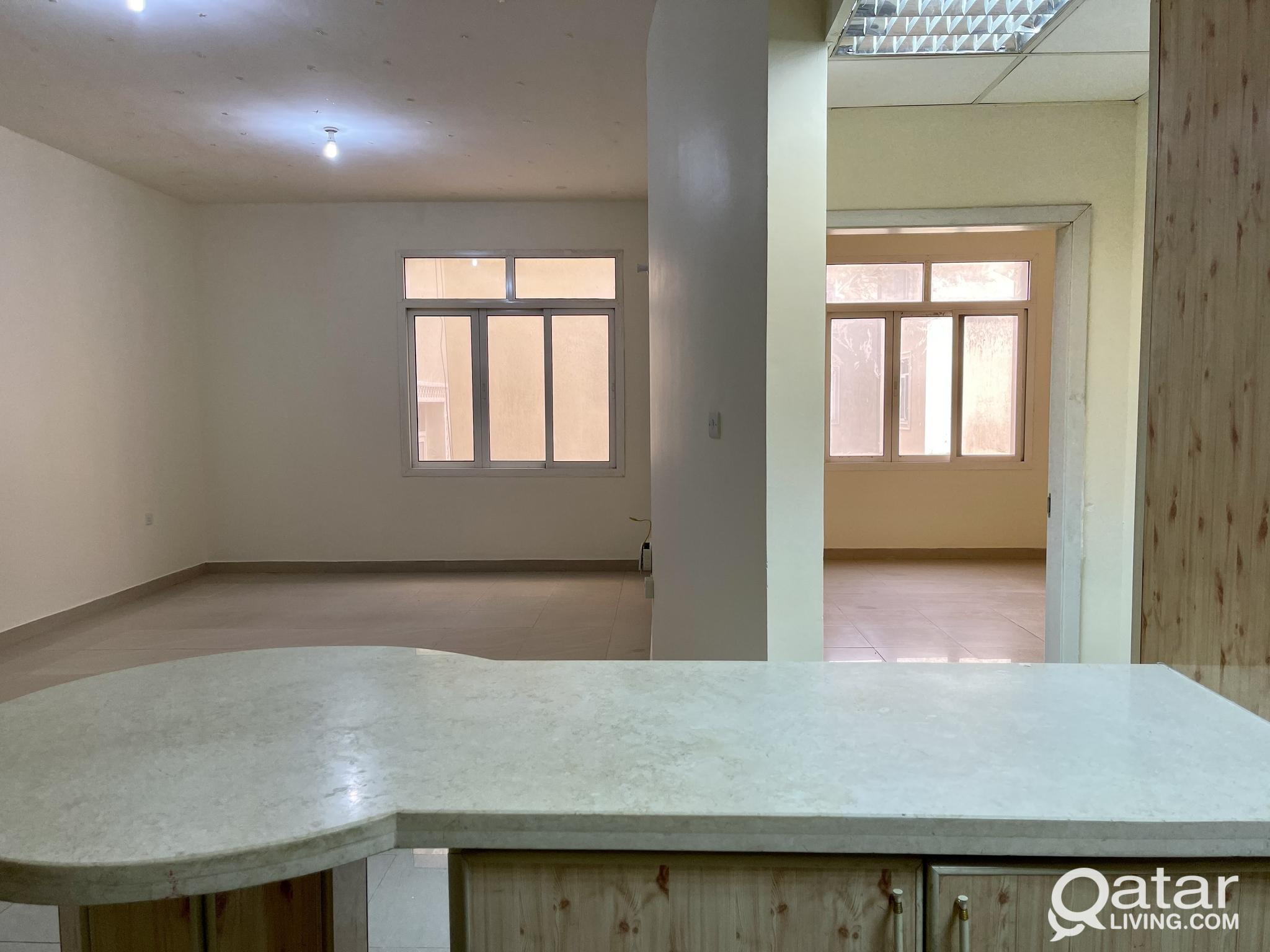 !! SPACIOUS 1BHK UNFURNISHED FOR RENT AT BIN MAHMO