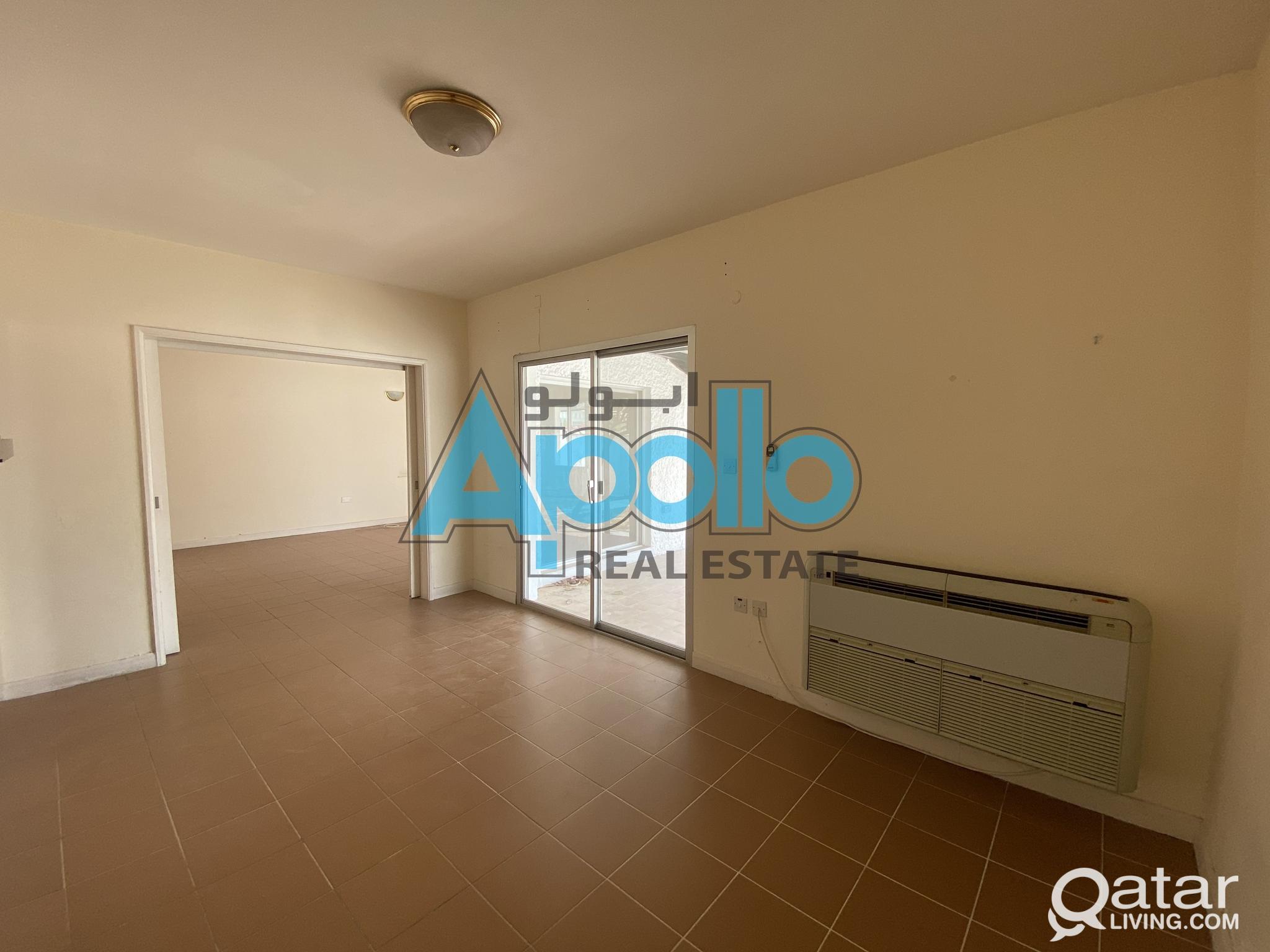 3 BHK UF Compound Villa+Maids room* NO COMMISSION