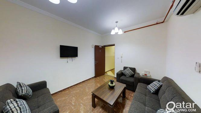 Large Area for 3-Bedroom Apartment Fully Furnished