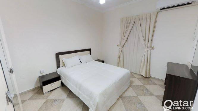 Well -Kept 3-Bedroom Fully Furnished Apartment
