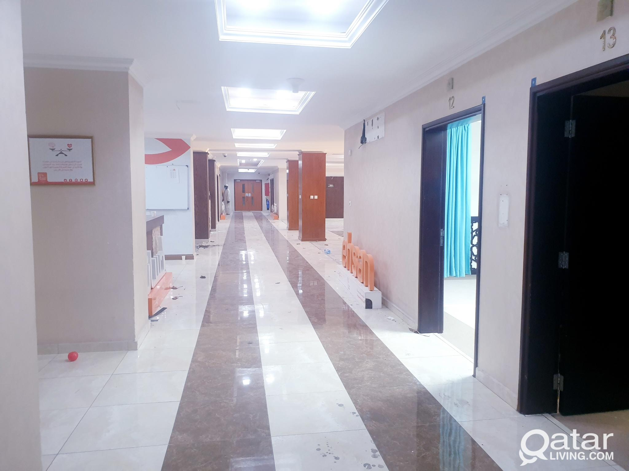 5000 Square Metre School building with 40 classes.