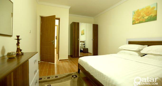 Very Accessible 2-Bedroom Furnished Apartment