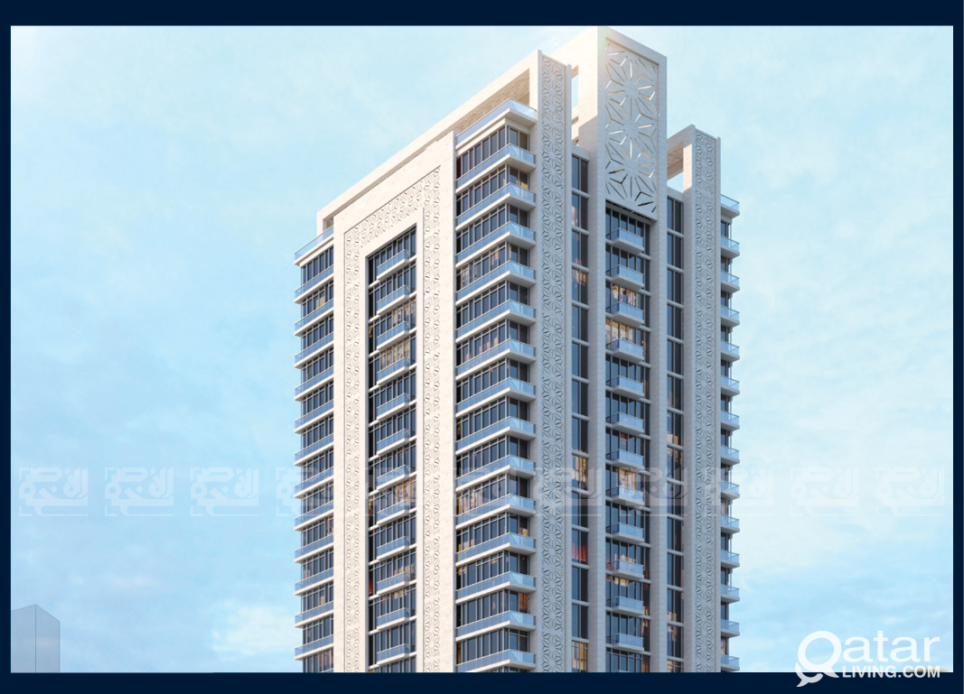 Invest Off-Plan, Furnished & lux 2-BDR, Lusail Mar
