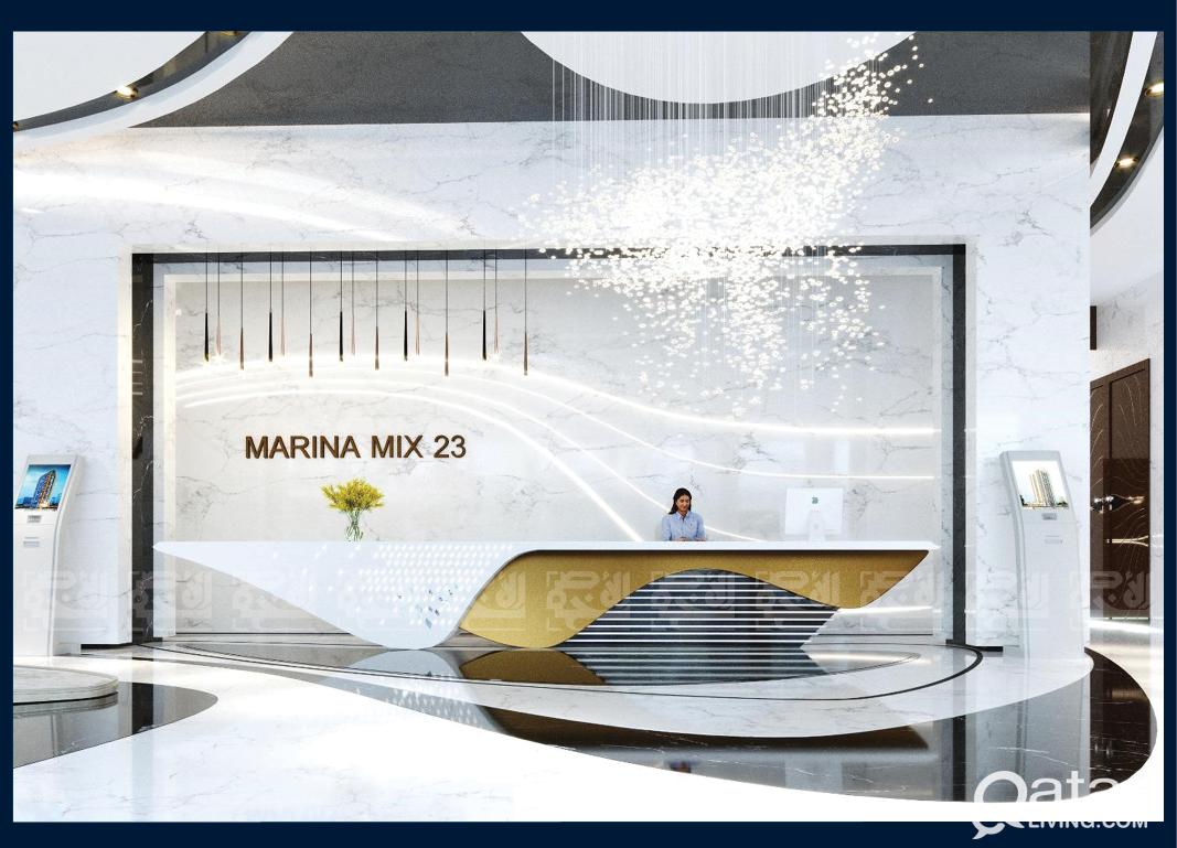 0% Interest, Furnished & lux 2-BDR, Lusail Marina