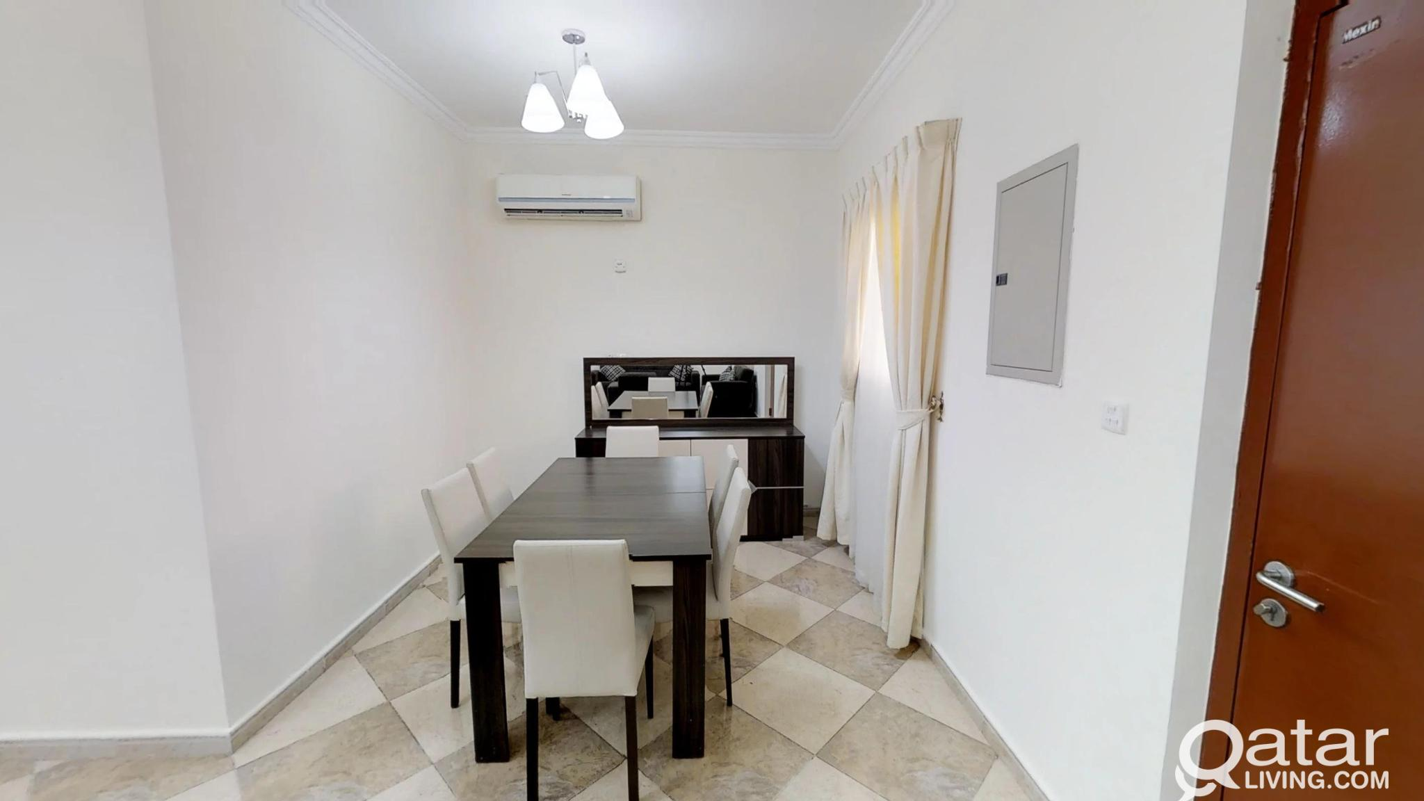 Decent Price for 2-BR Fully Furnished Apartment RH