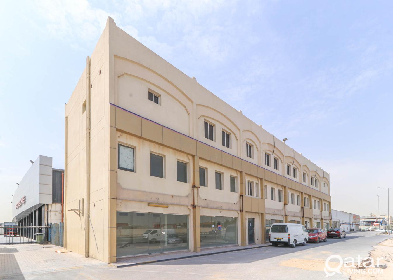 Custom Built Retail Shop with Mezzanine Level