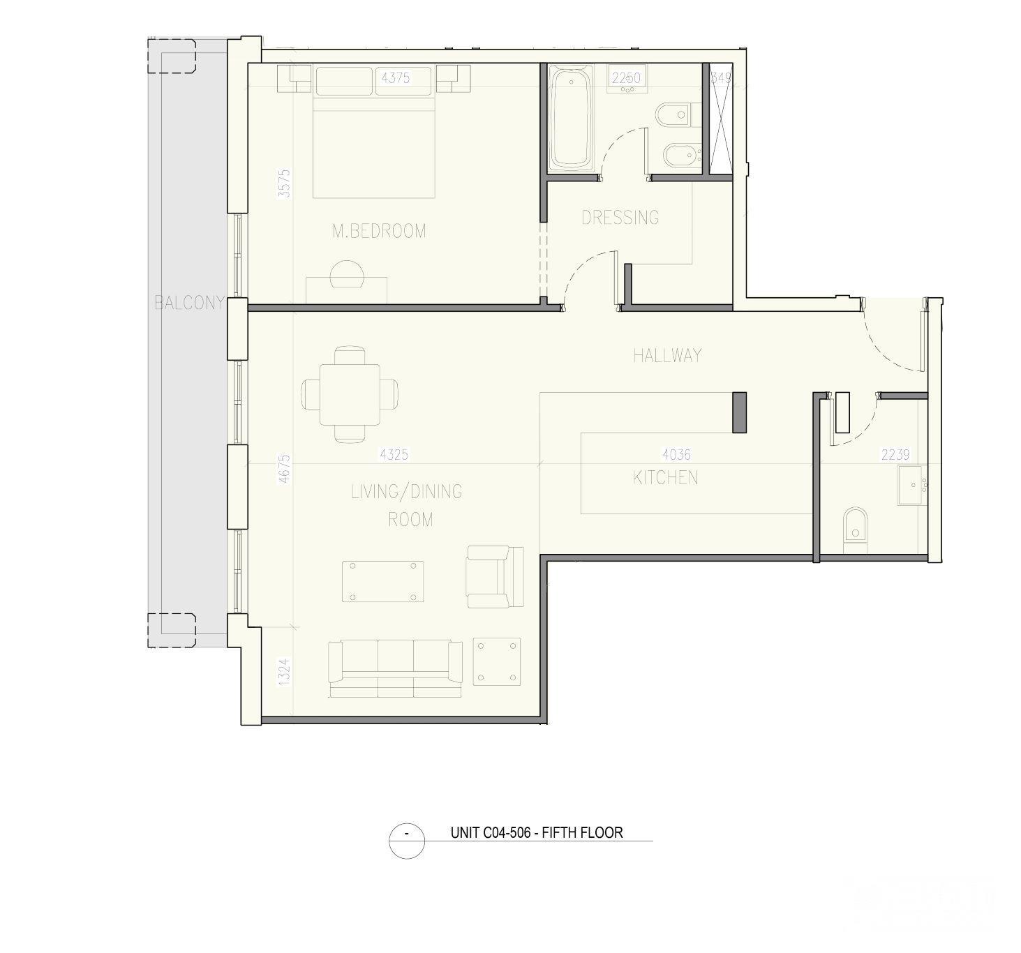Studio for sale - Fox Hills