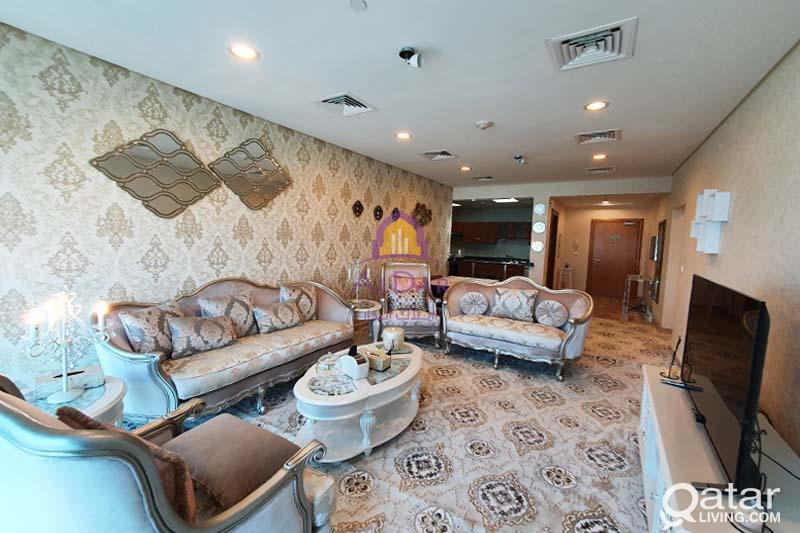 Luxurious elegant furnished 2 bedrooms in Lagoona