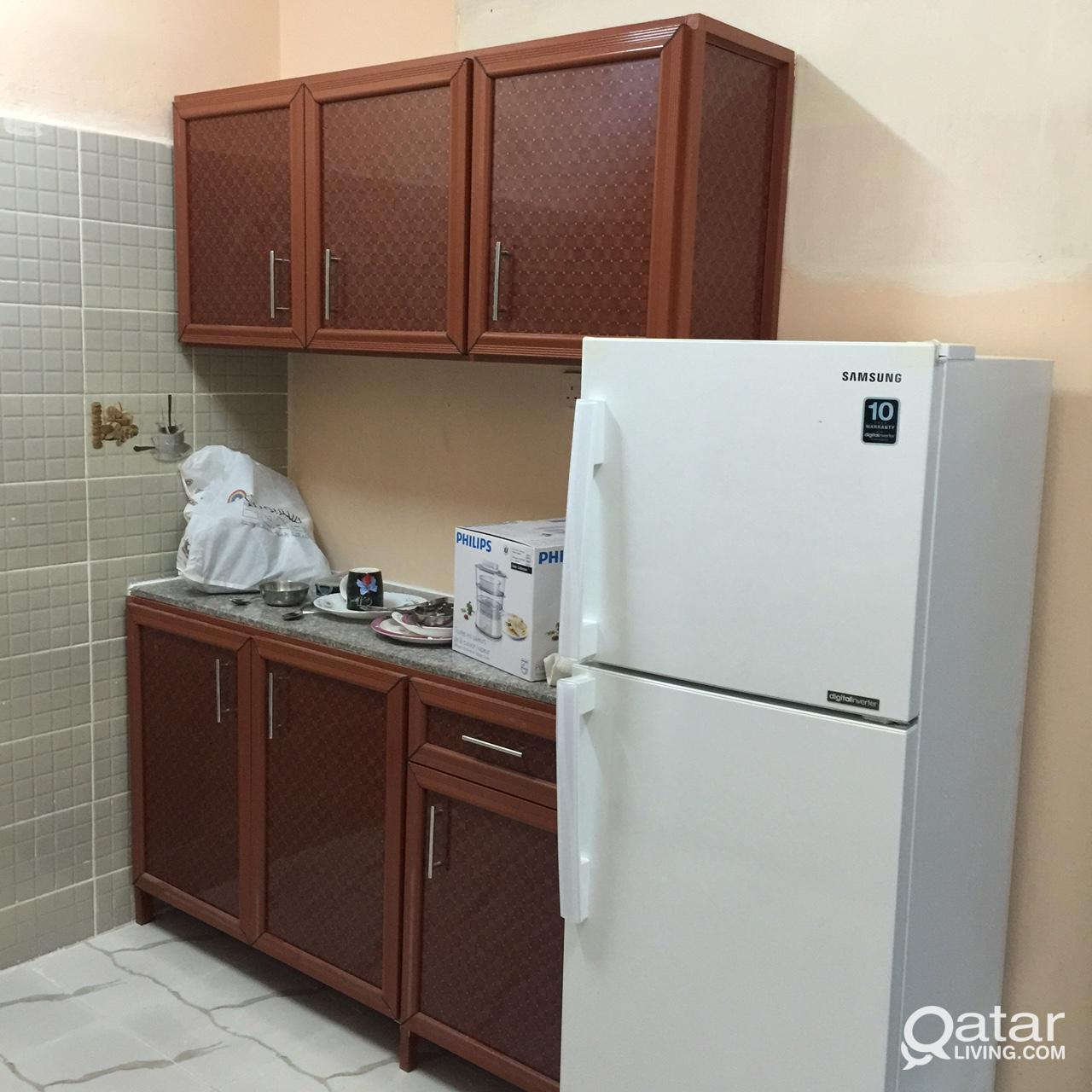 Fully Furnished Bedroom with sharing bathroom for