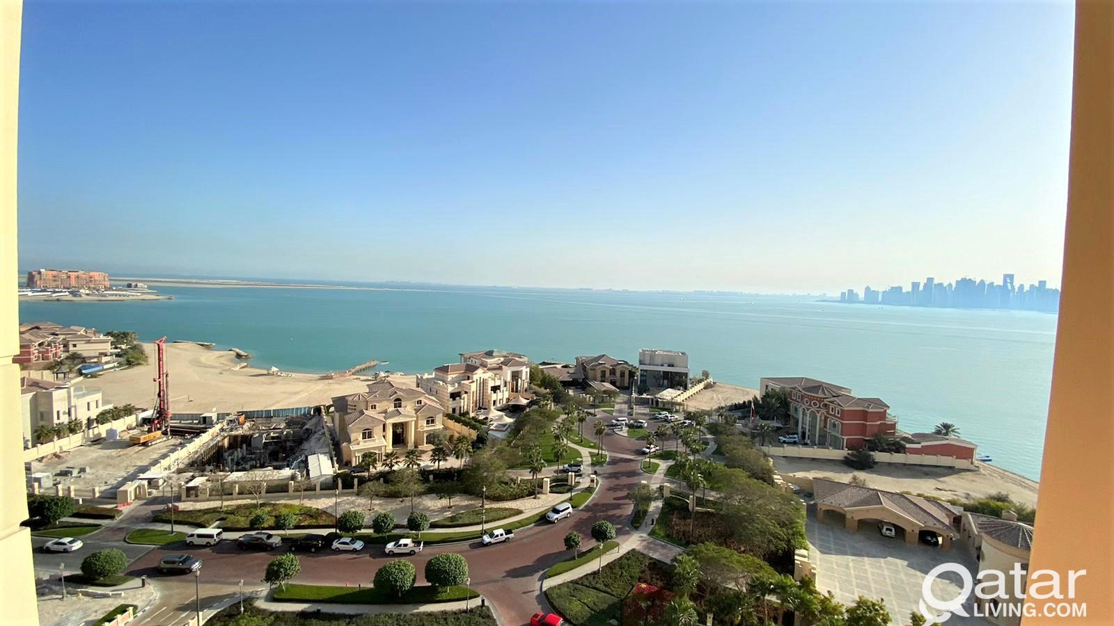 Overlooking 2BR Apartment for Sale in Viva Bahriya