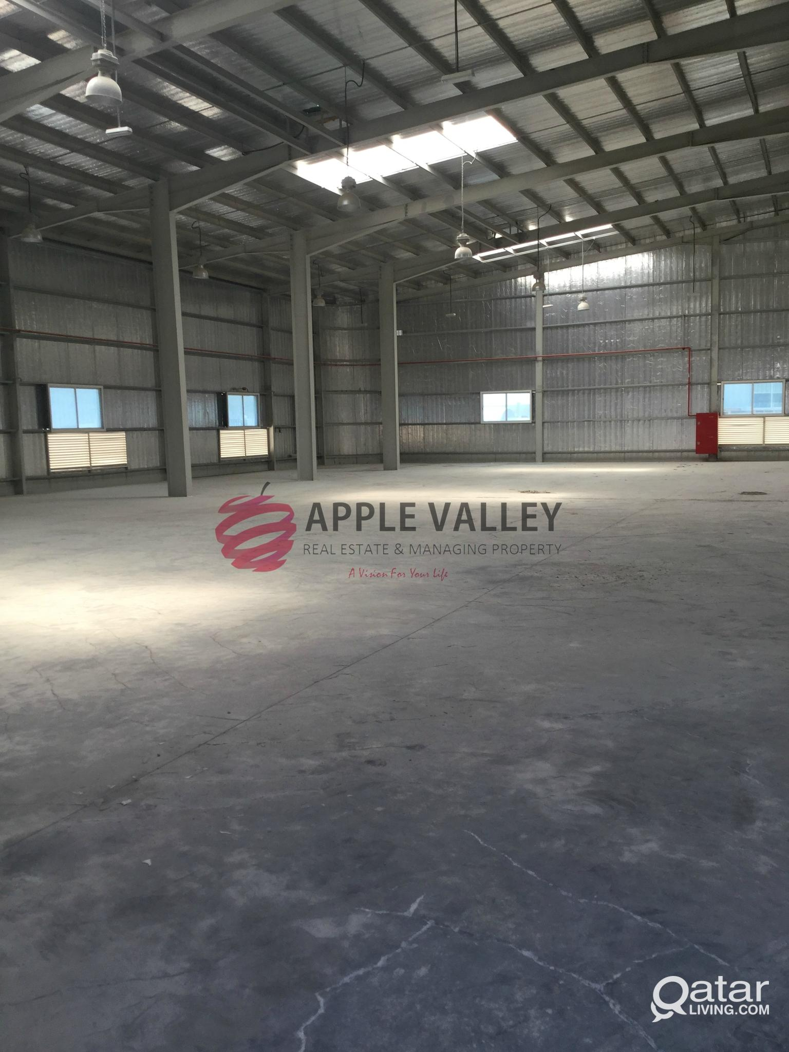 1700 SQM STORE FOR RENT IN INDUSTRIAL AREA