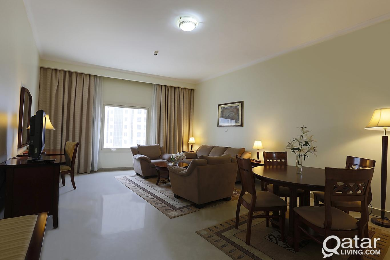 Elegant 2-Bedroom Fully Furnished in Ezdan Tower i
